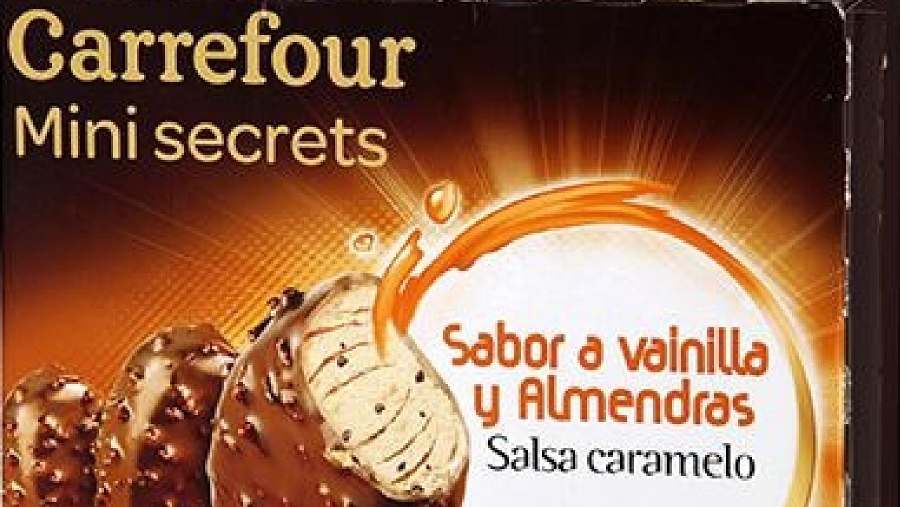 Helados Carrefour.
