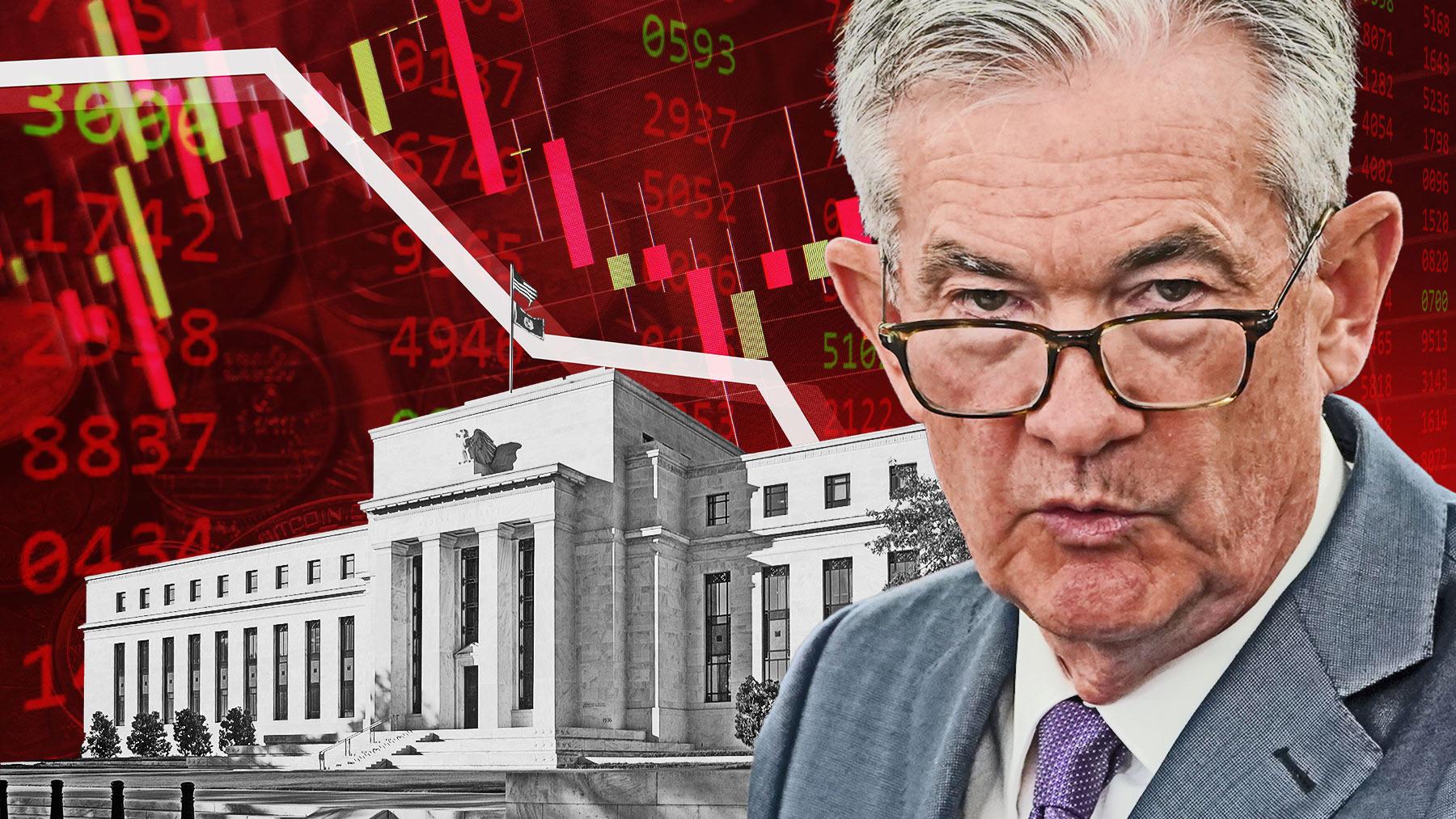 Jerome Powell, presidente de la Reserva Federal.