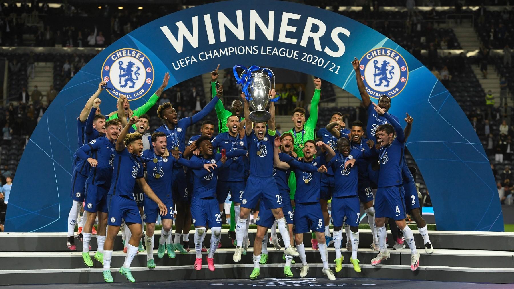 El Chelsea defiende título en Champions. (AFP)