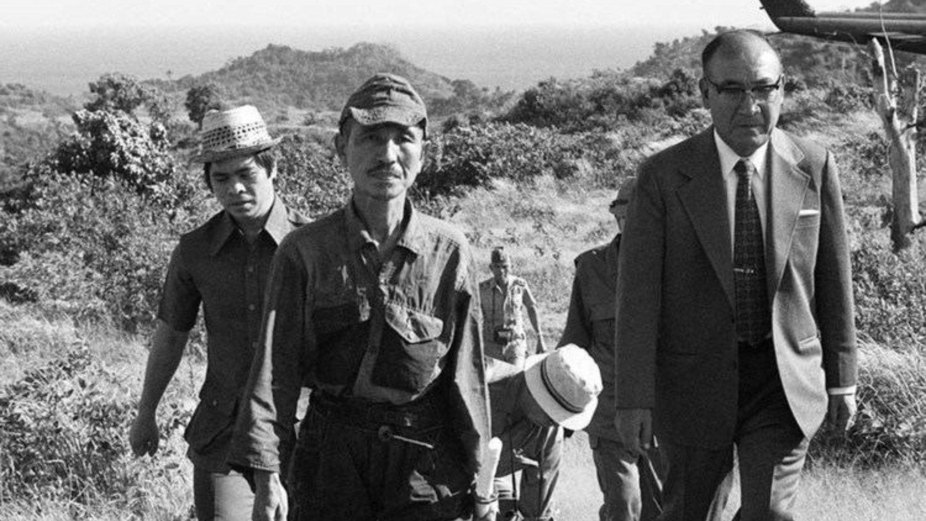 Hiroo Onoda en Filipinas
