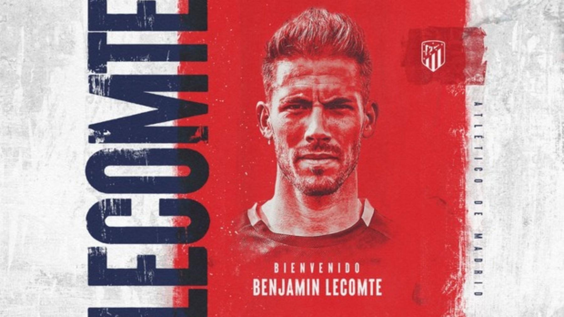 Lecomte llega cedido al Atlético. (Atlético de Madrid)