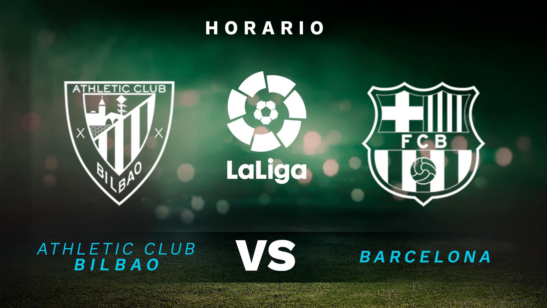 Liga Santander 2021-2022: Athletic Club – Barcelona   Horario del partido de fútbol de la Liga Santander.