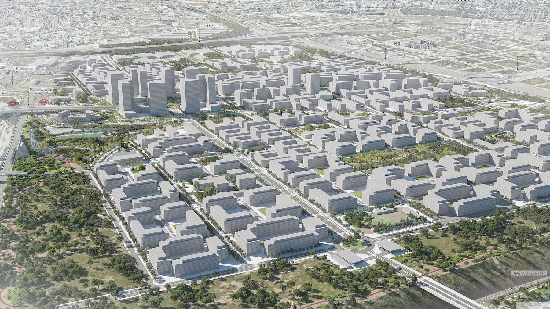 Proyecto residencial Los Ahijones.