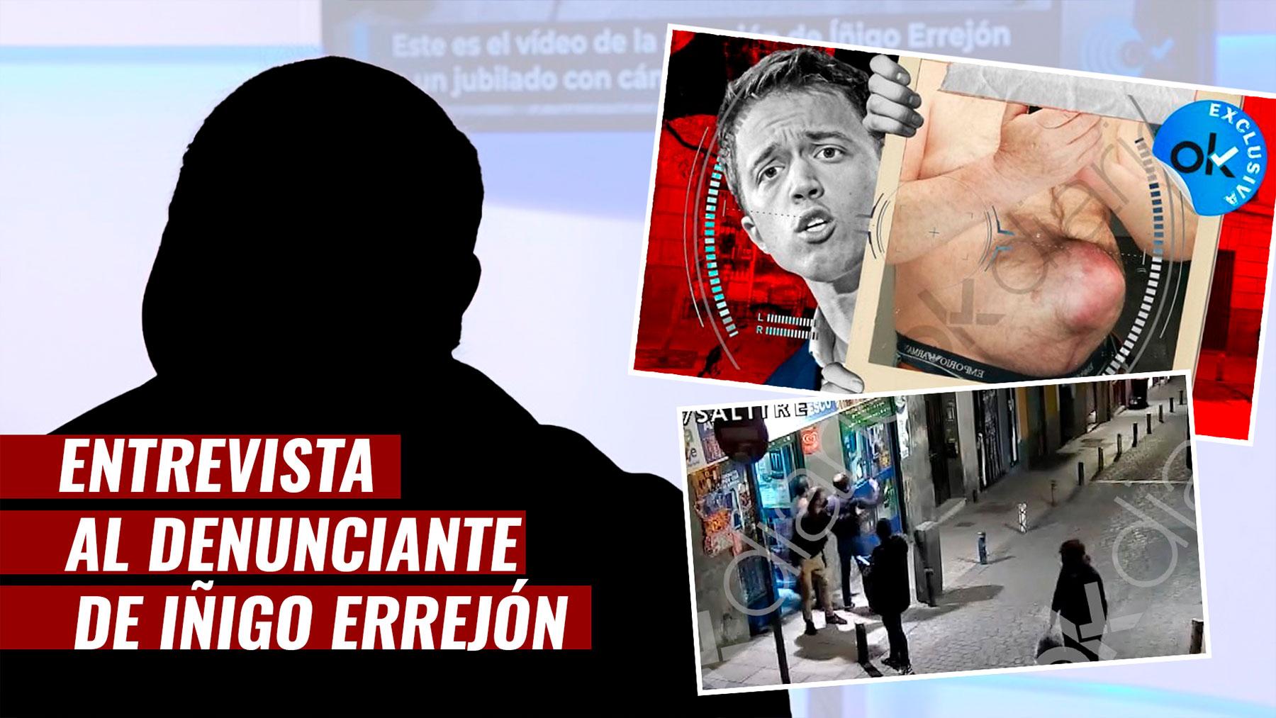 Entrevista al denunciante del «caso Errejón».