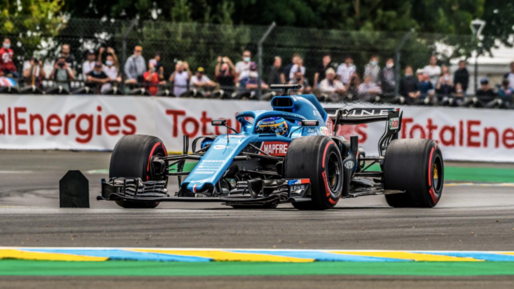 Alonso, en las 24 horas de Le Mans. (WEC)