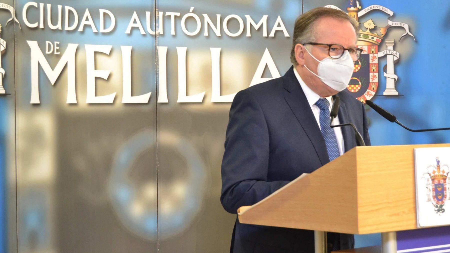 El presidente de Melilla, Eduardo de Catro.