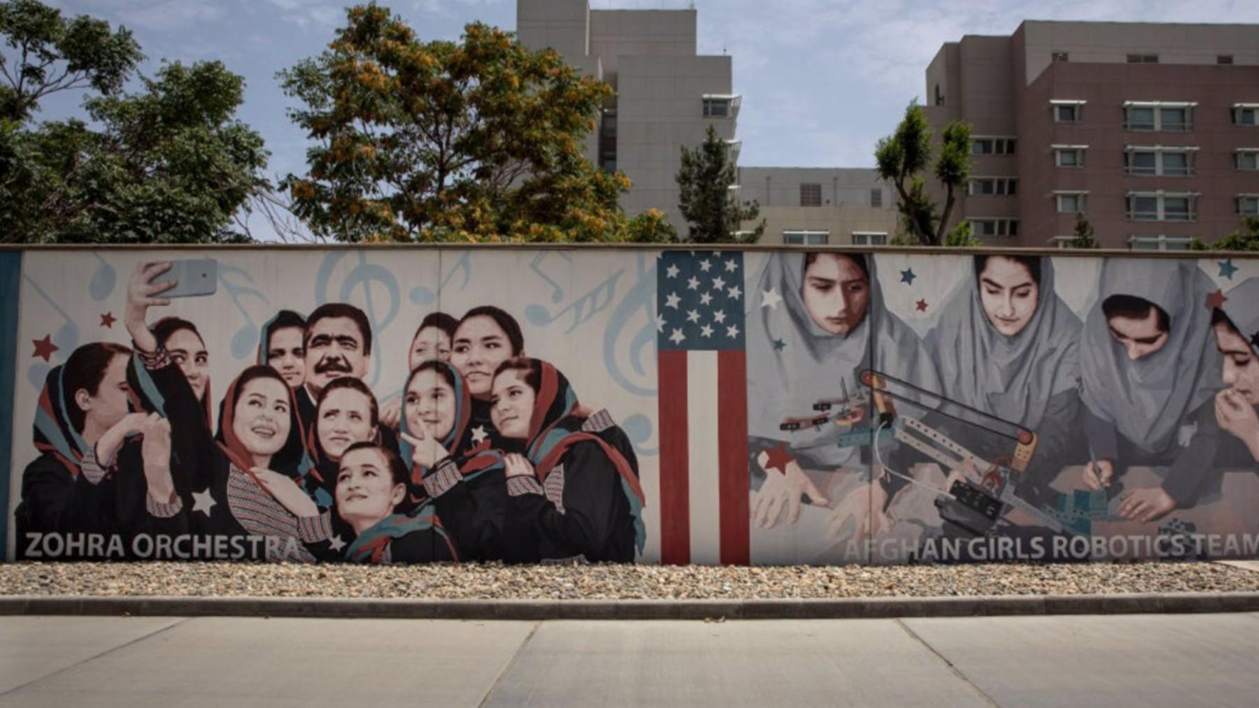 Embajada de EEUU en Kabul.