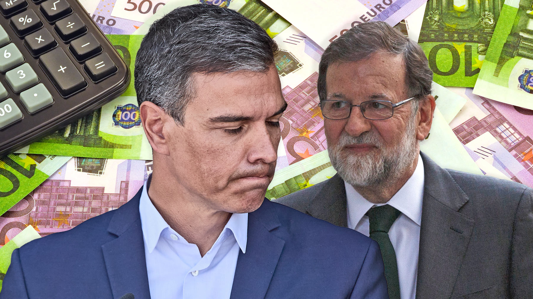 Pedro Sánchez, presidente del Gobierno, y Mariano Rajoy, ex presidente.