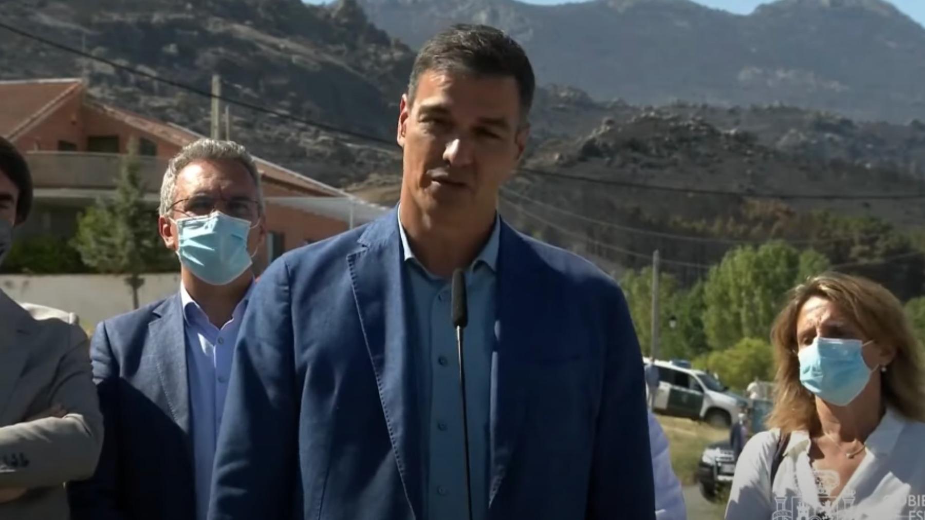 Pedro Sánchez en Ávila.