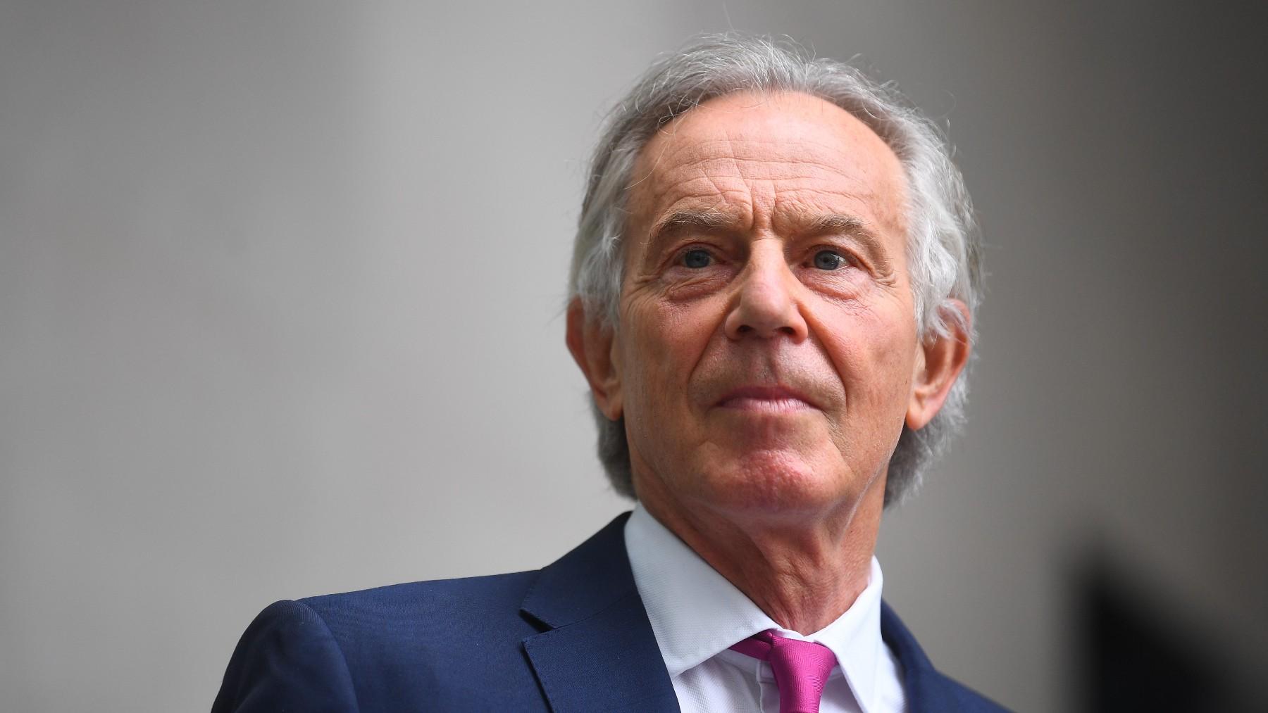 El ex primer ministro británico Tony Blair.