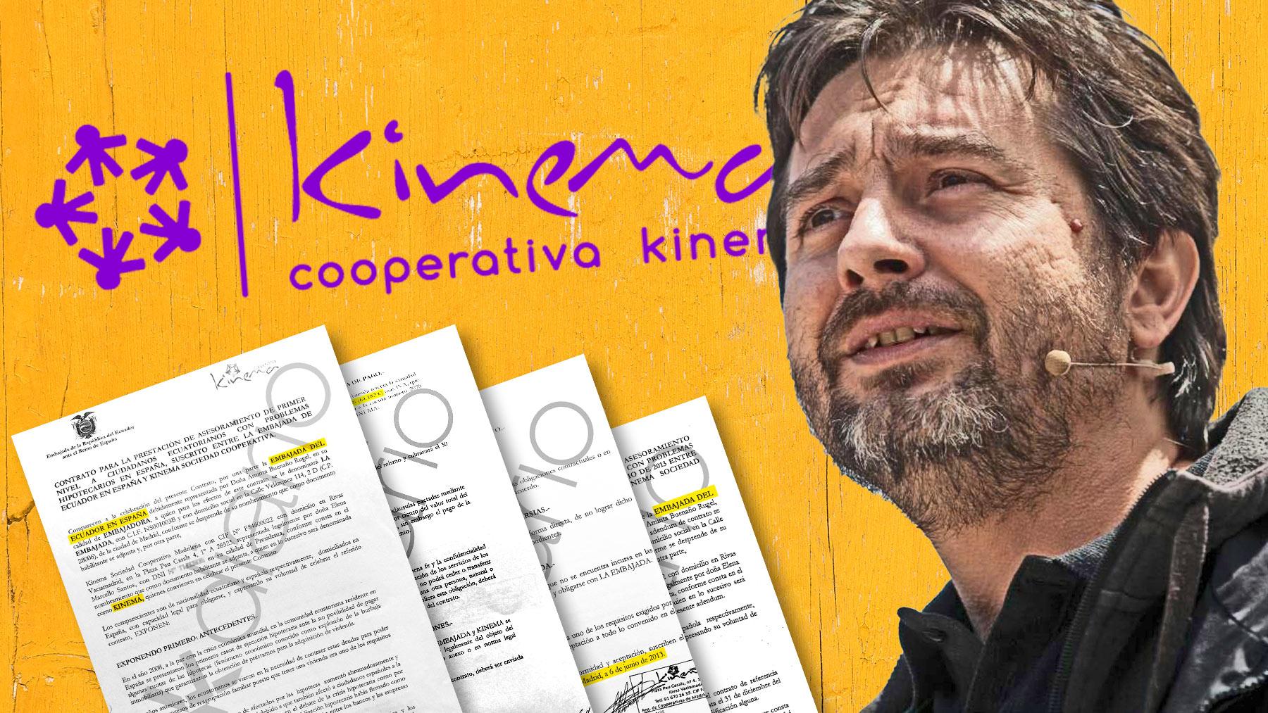 Rafael Mayoral, fundador de Kinema, la cooperativa de Podemos.
