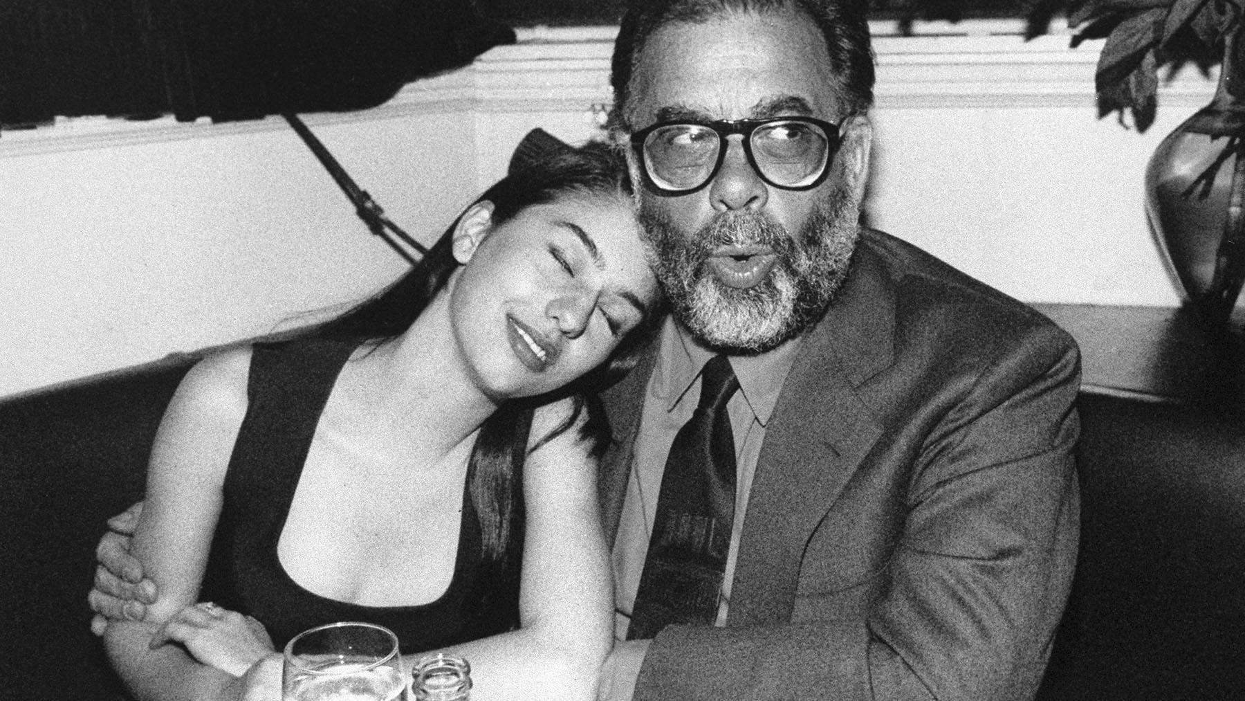 Francis Ford Coppola junto a su hija Sofia en 1990 (GETTY IMAGES)