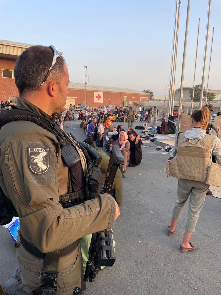 Uno de los GEO llegados a Kabul para apoyar a los agentes destinados en Afganistán.