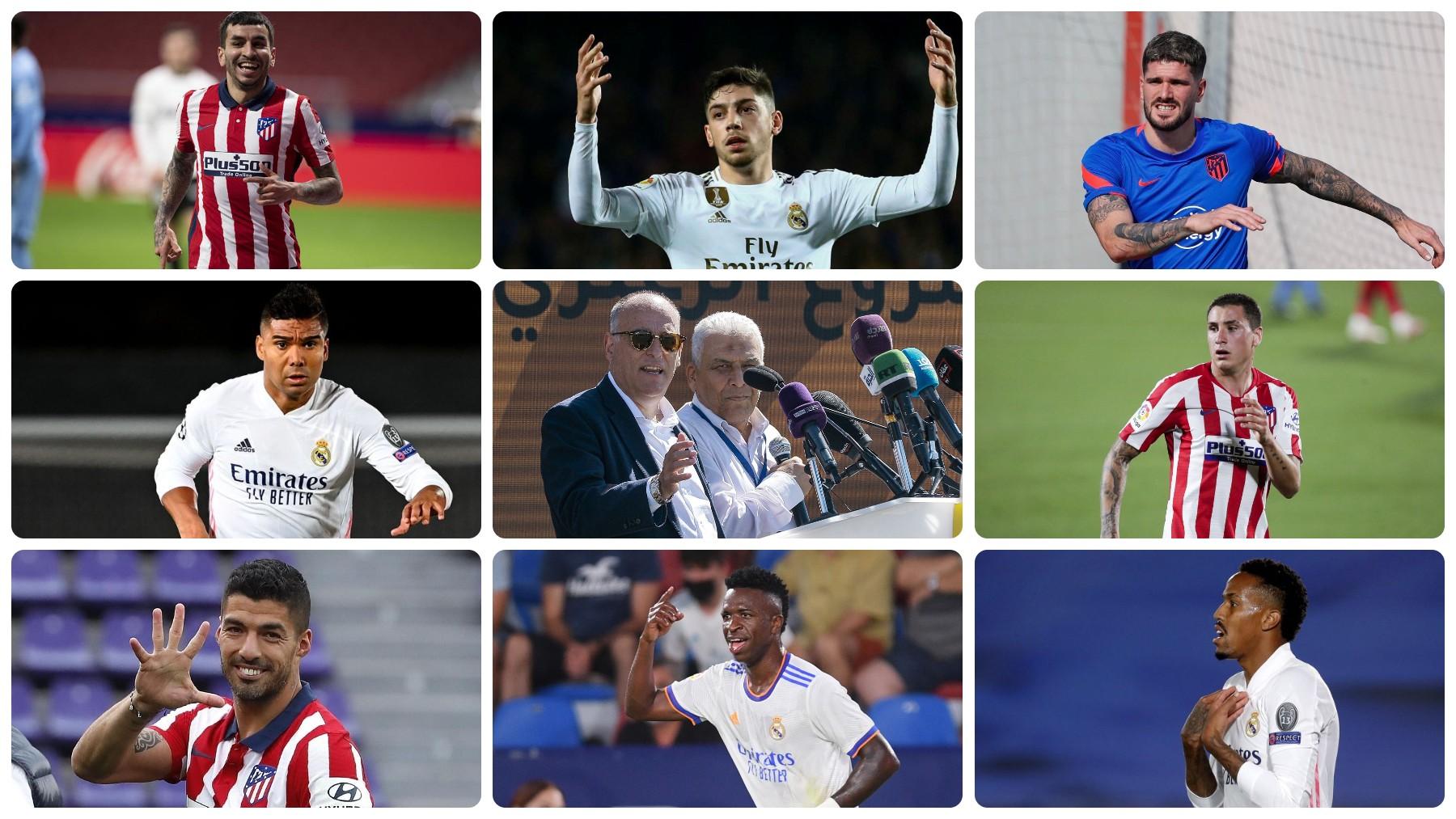 Los internacionales sudamericanos no podrán estar en la jornada 4 de la Liga Santander.