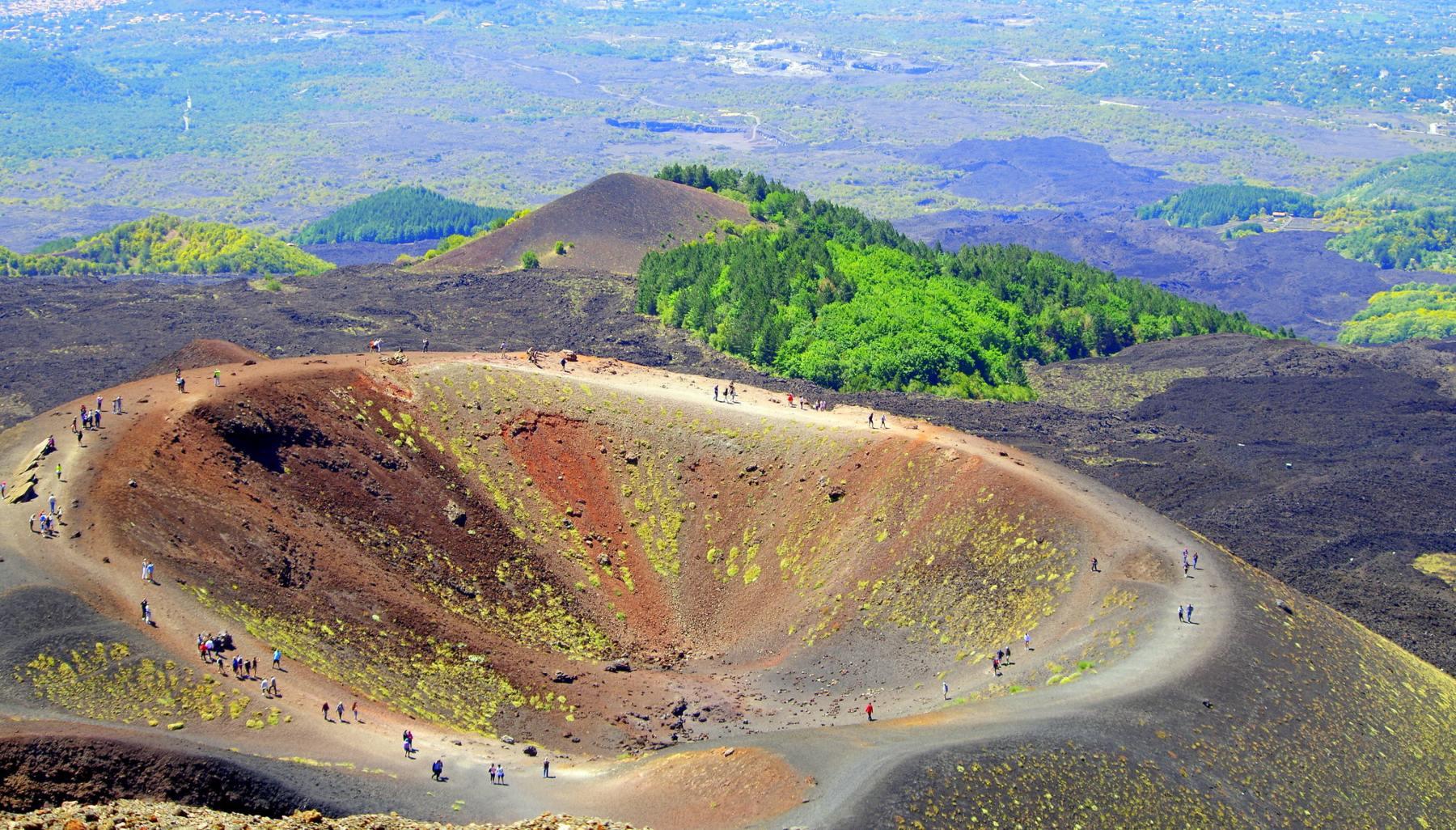 Los cráteres son redondos