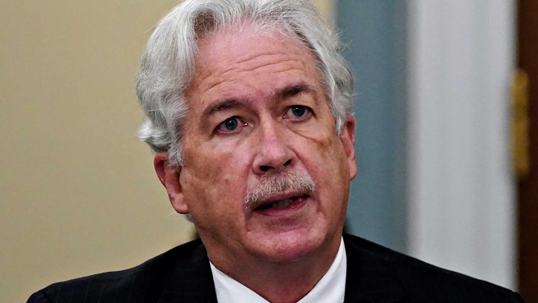 El jefe de la CIA, William Burns. Foto: AFP
