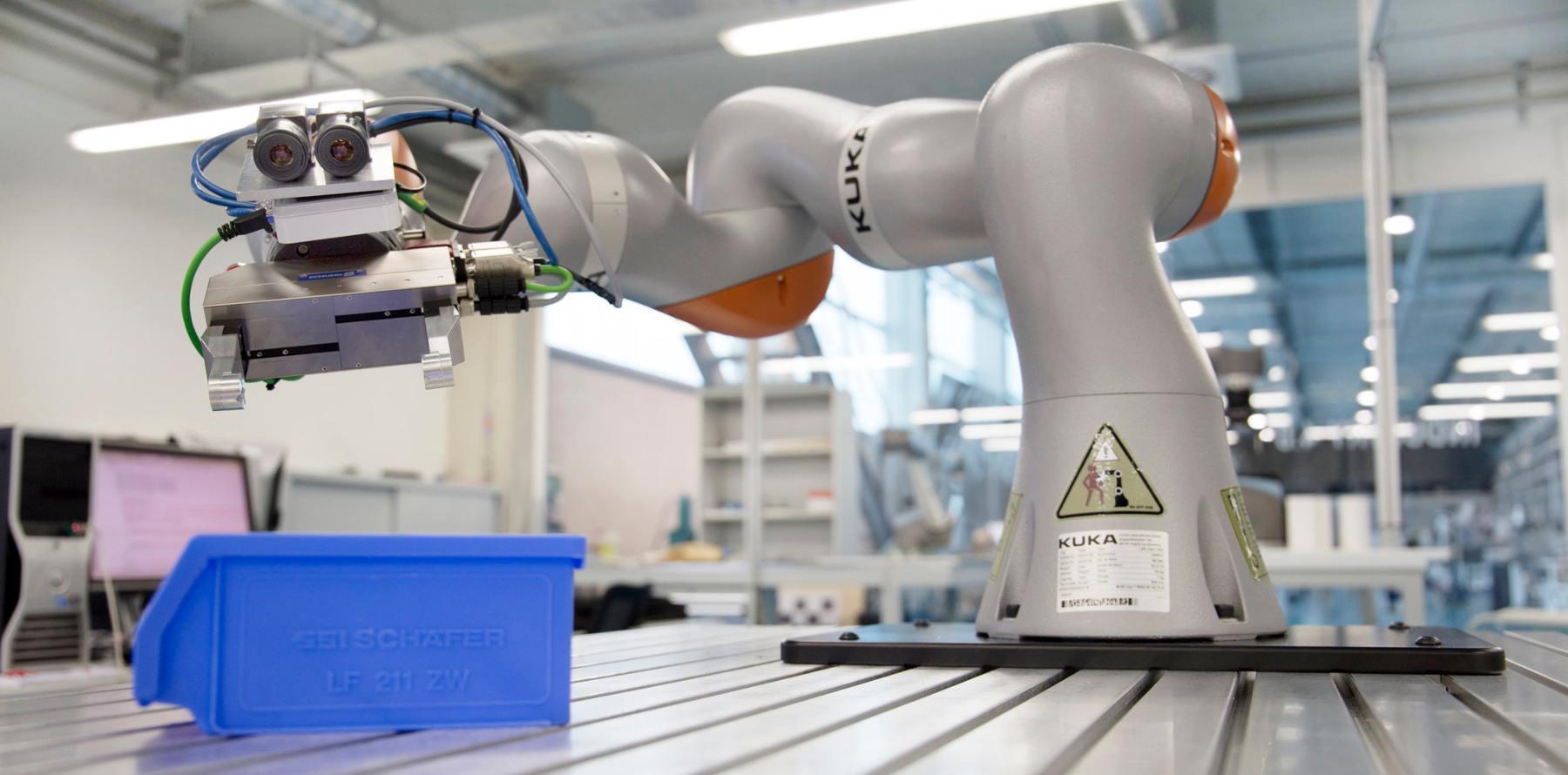 Máquinas que hacen robots