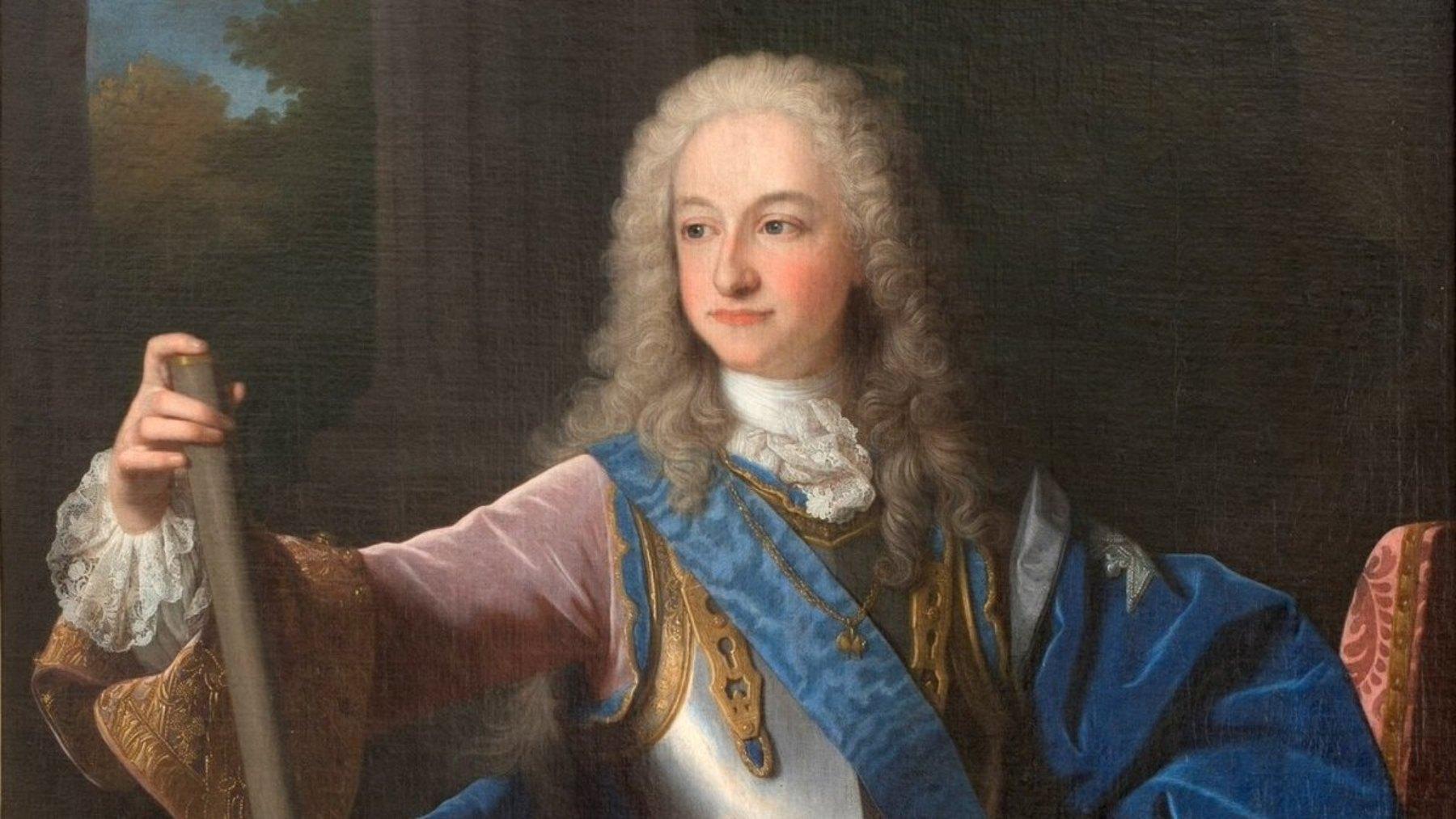 Retrato de Luis I de España