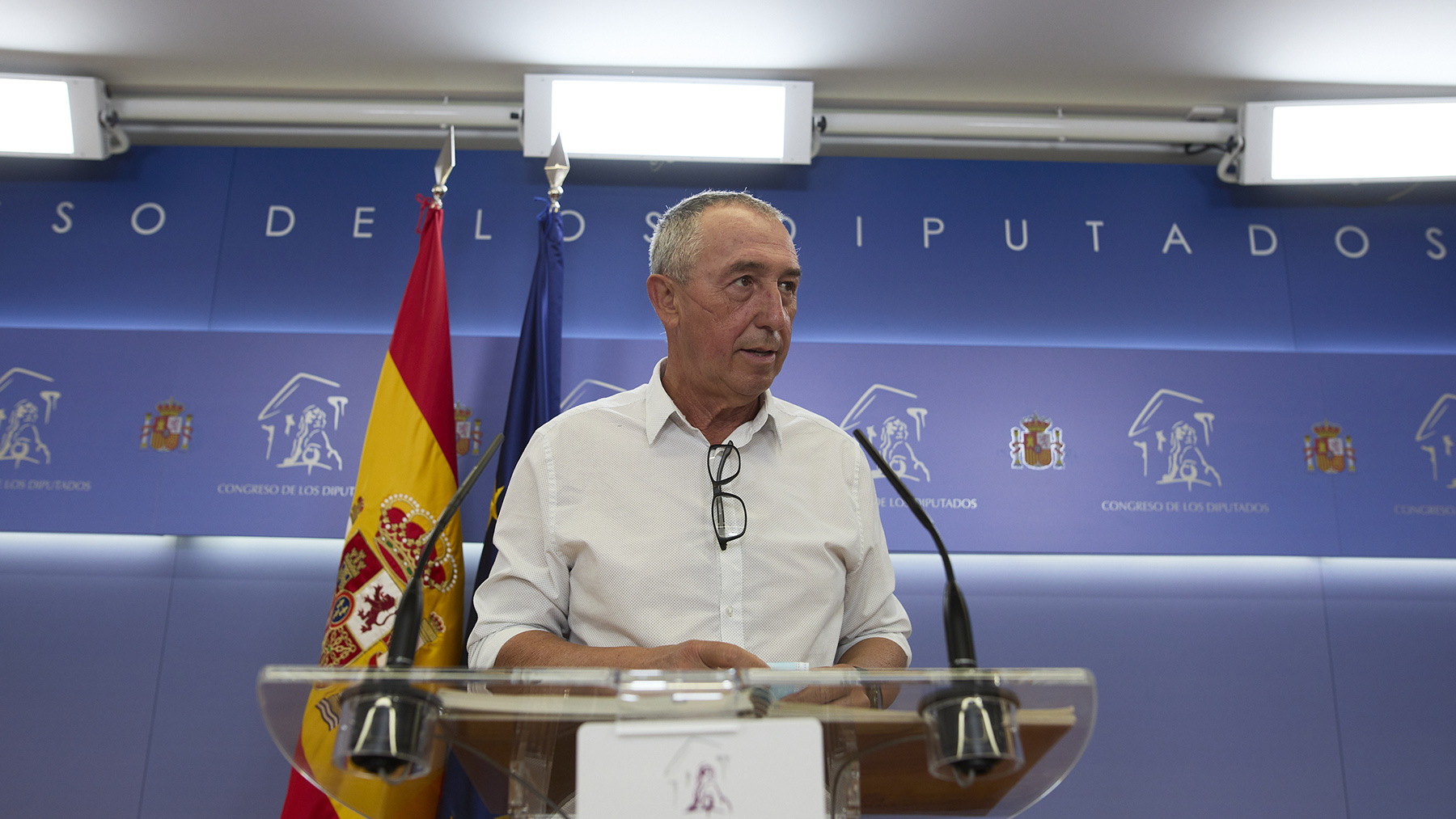 Joan Baldoví, diputado de Compromís.