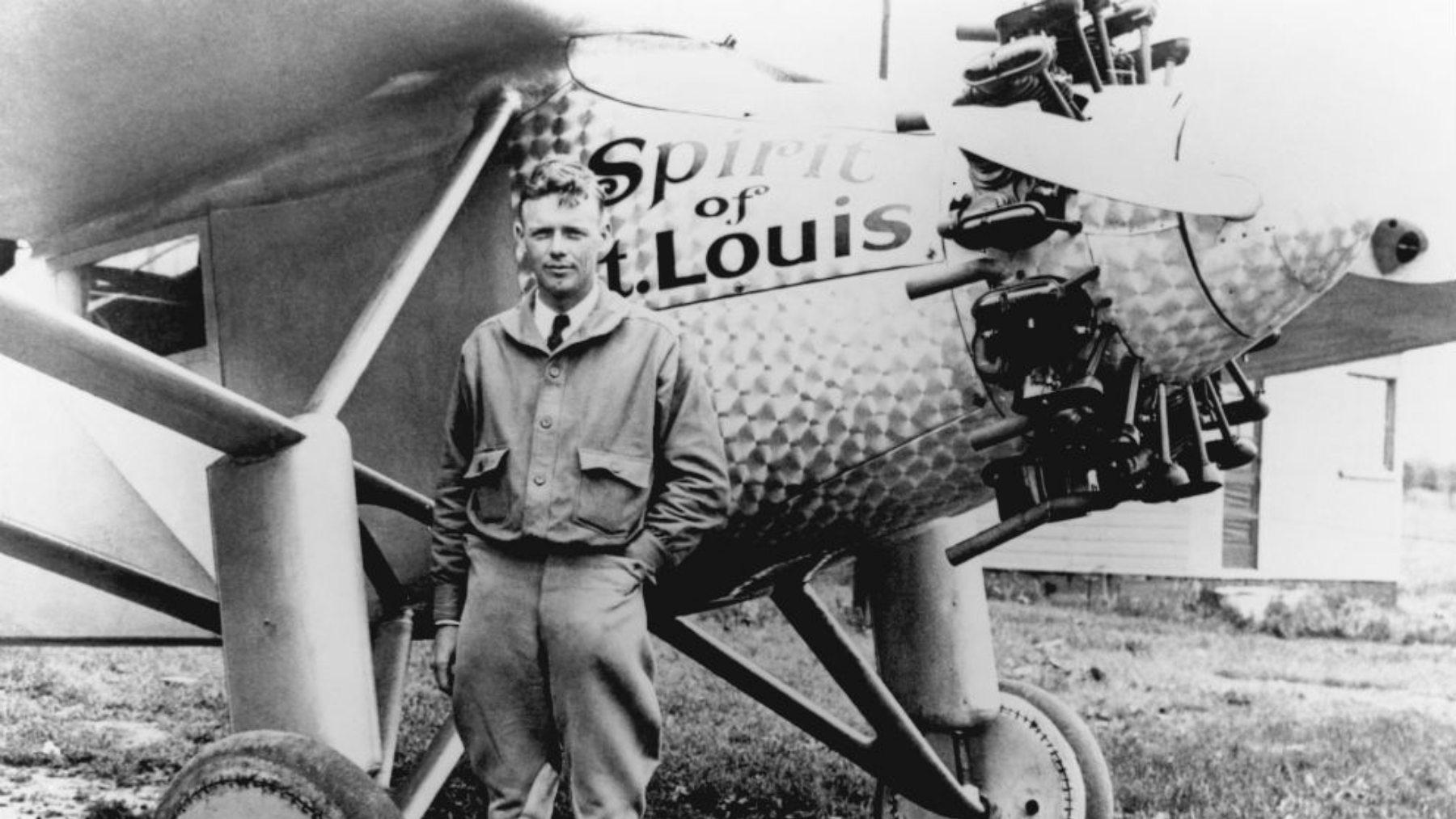 Charles Lindbergh, el héroe del Espíritu de San Luis