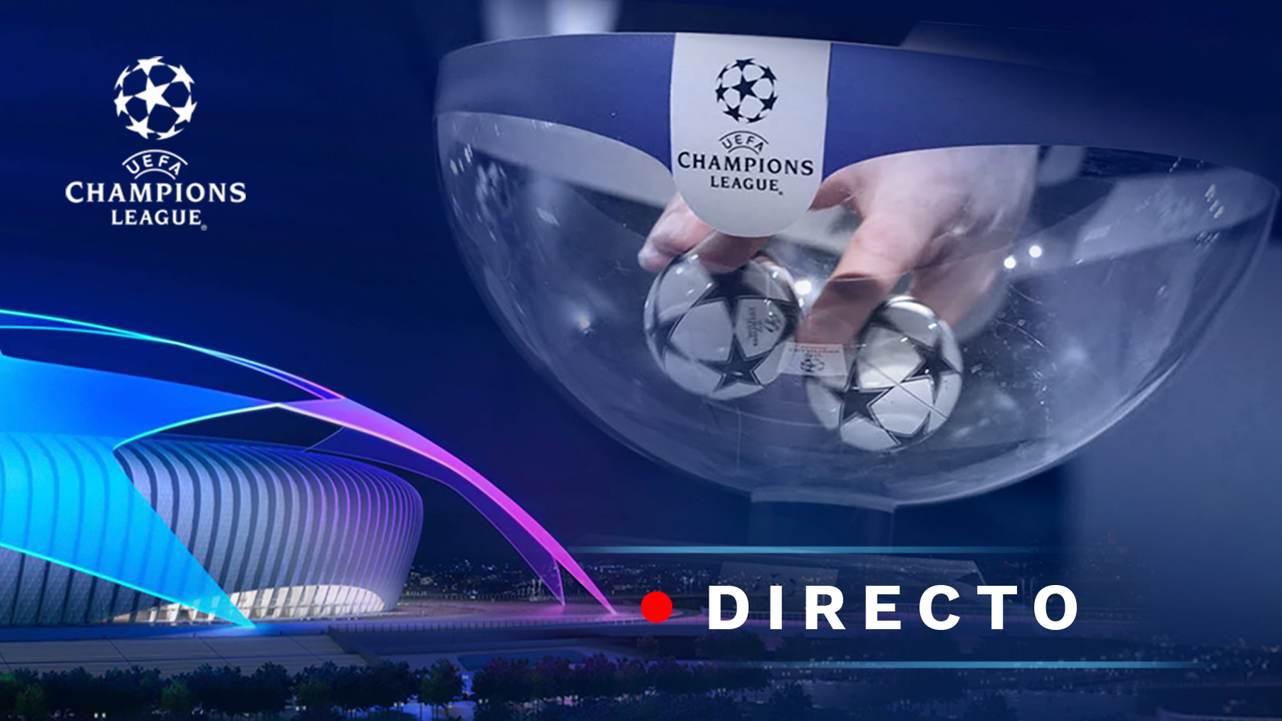 Champions League 2021-2022   Sorteo de la Champions League, en directo.