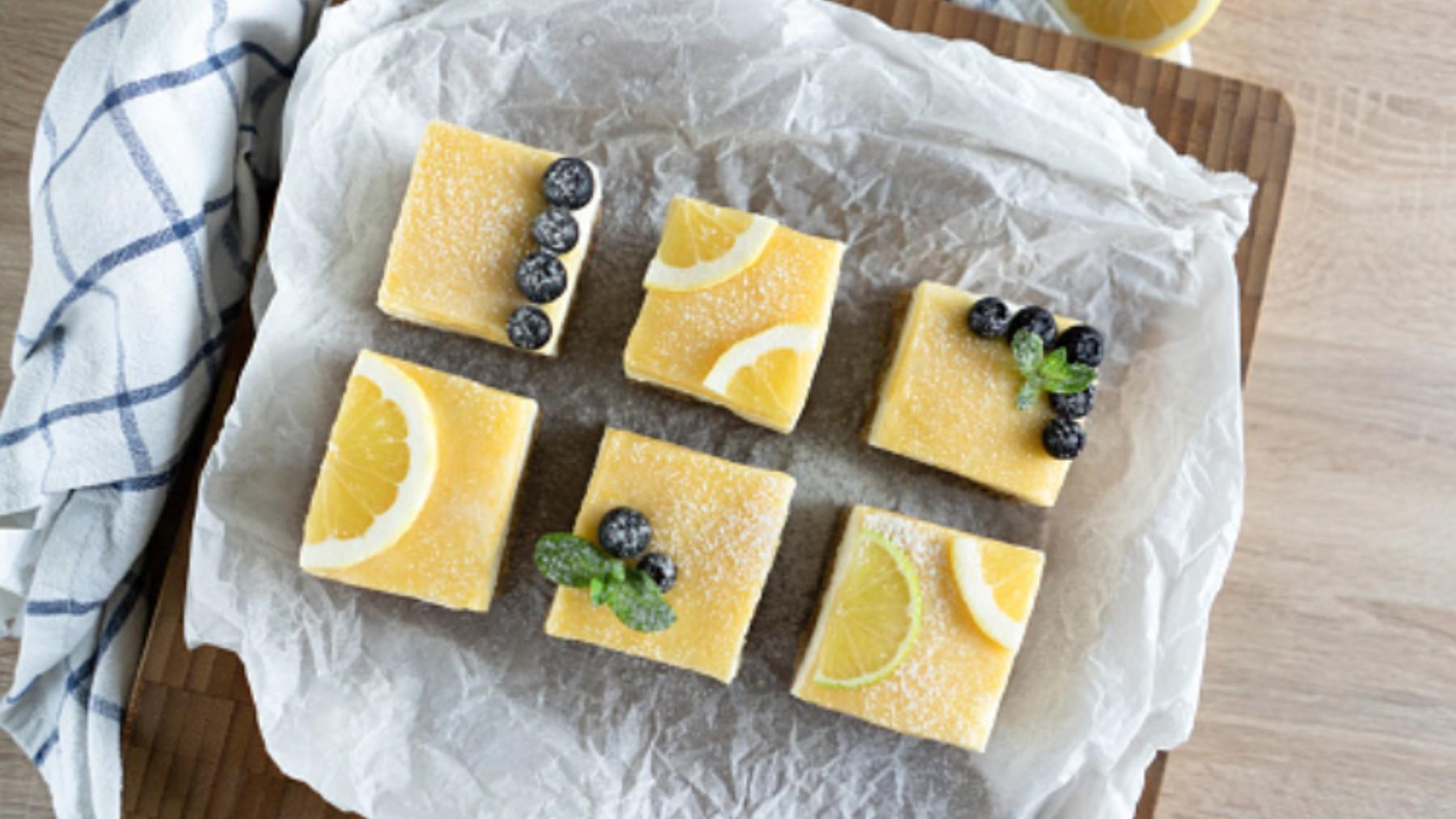 Tarta de limón fría, receta de postre refrescante listo en 5 minutos