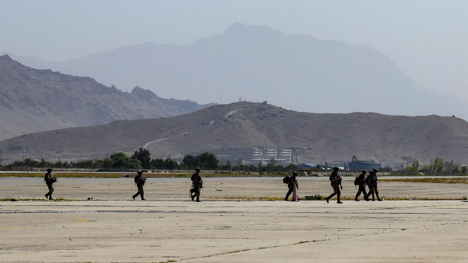 Trabajos de evacuación en el aeropuerto de Kabul (Marina de EEUU / ZUMA PRESS / CONTACTOPHOTO)