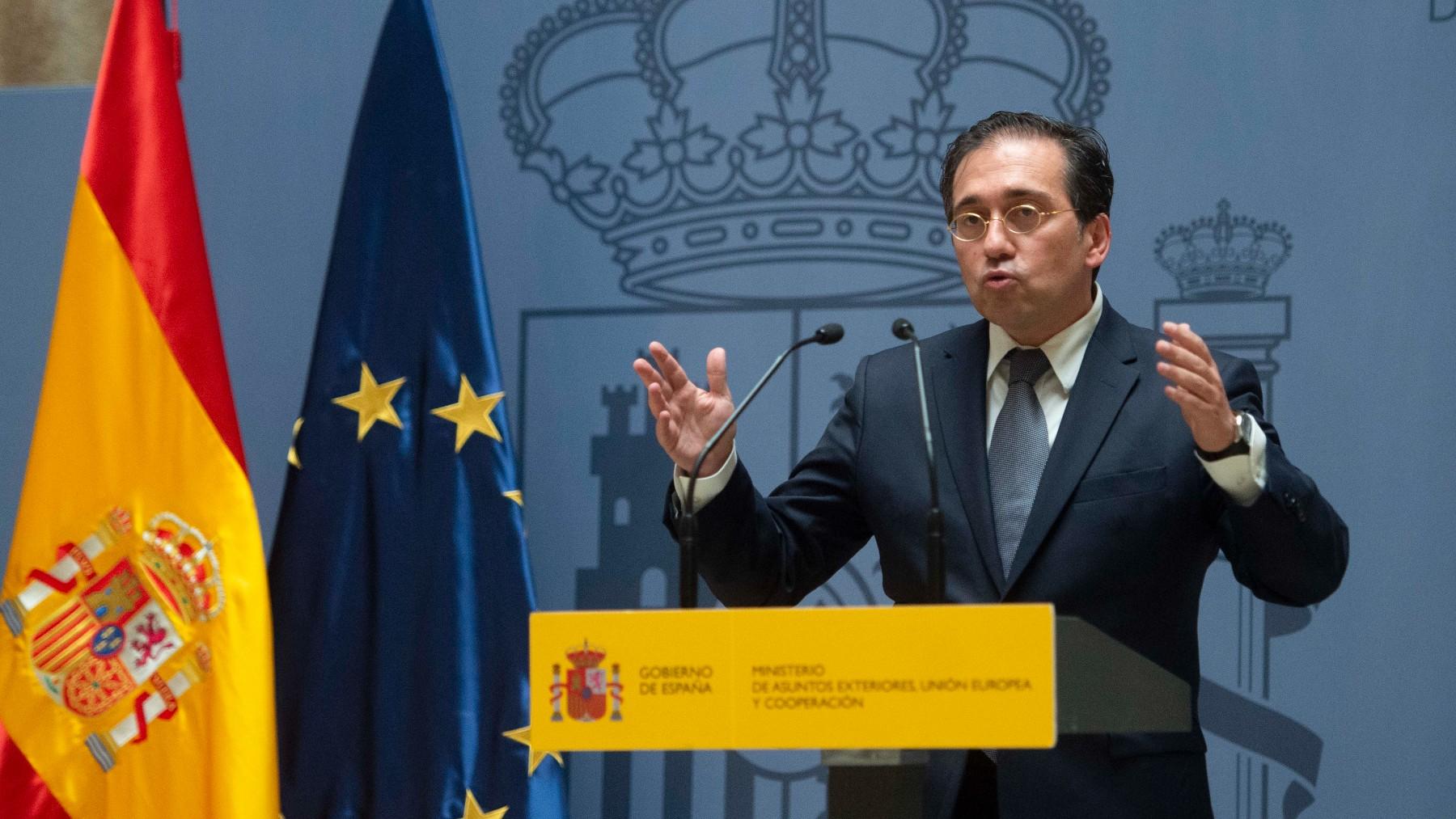 El ministro de Asuntos Exteriores, Unión Europea y Cooperación, José Manuel Albares.