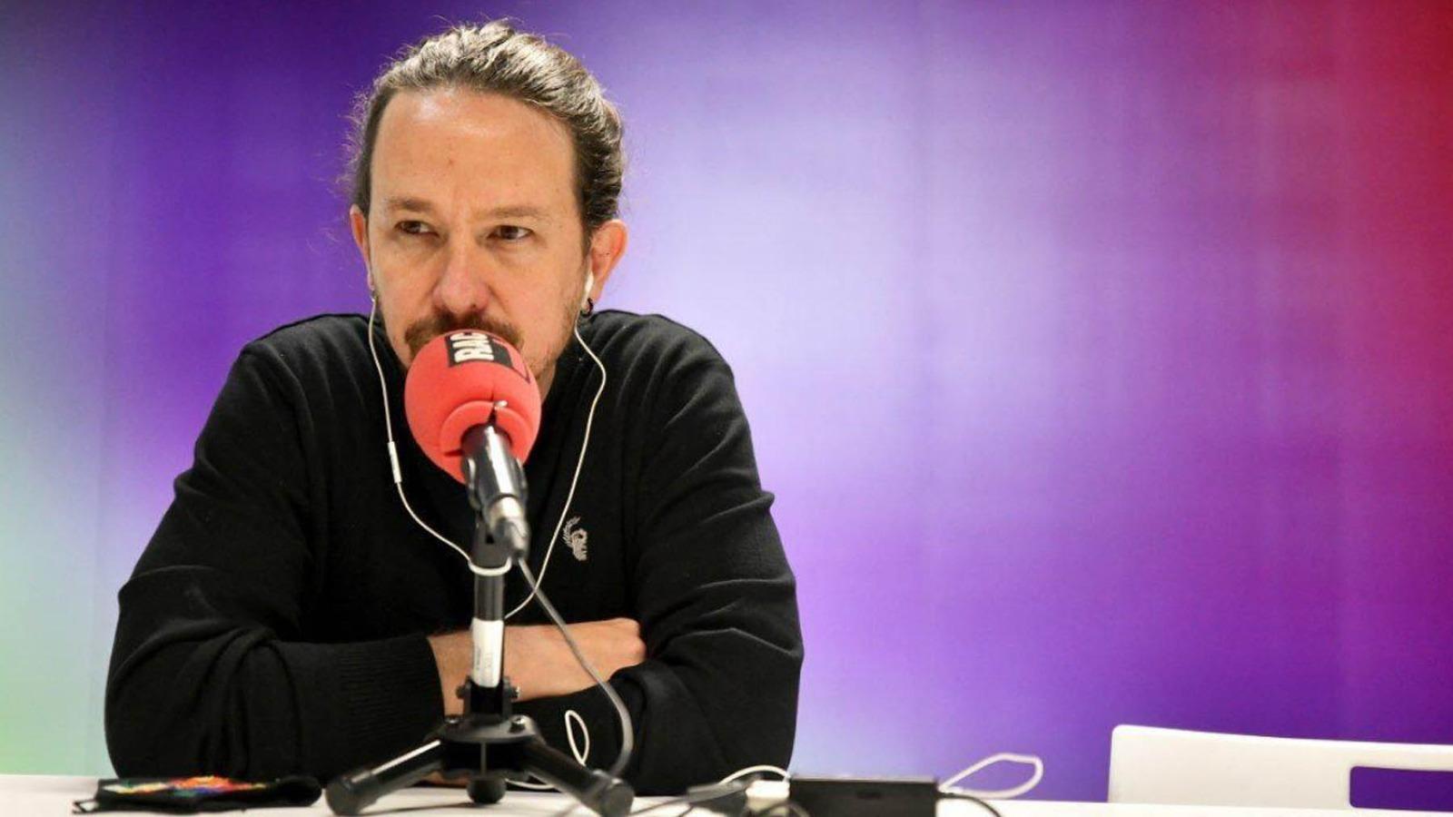 Pablo Iglesias, ex líder de Podemos, en una imagen de archivo. (Foto: Rac1)