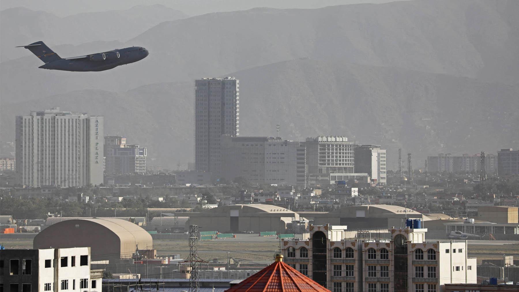 Aeropuerto de Kabul. (Foto: AFP)