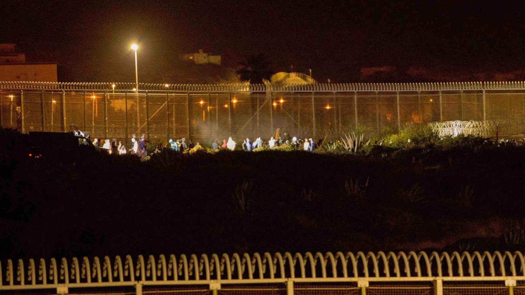 Asalto a la valla de Melilla.