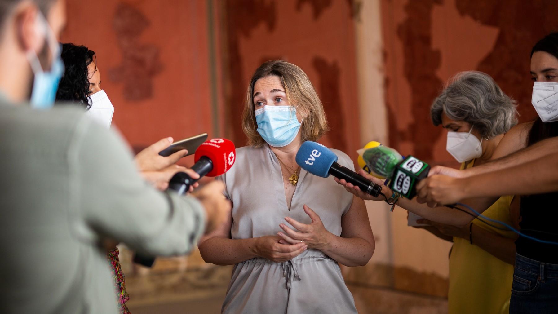 La consejera de Cultura, Turismo y Deporte de la Comunidad de Madrid, Marta Rivera de la Cruz.