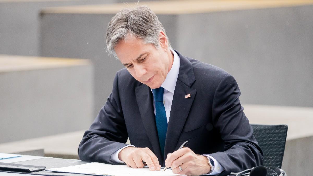 l secretario de Estado de EEUU, Antony Blinken.
