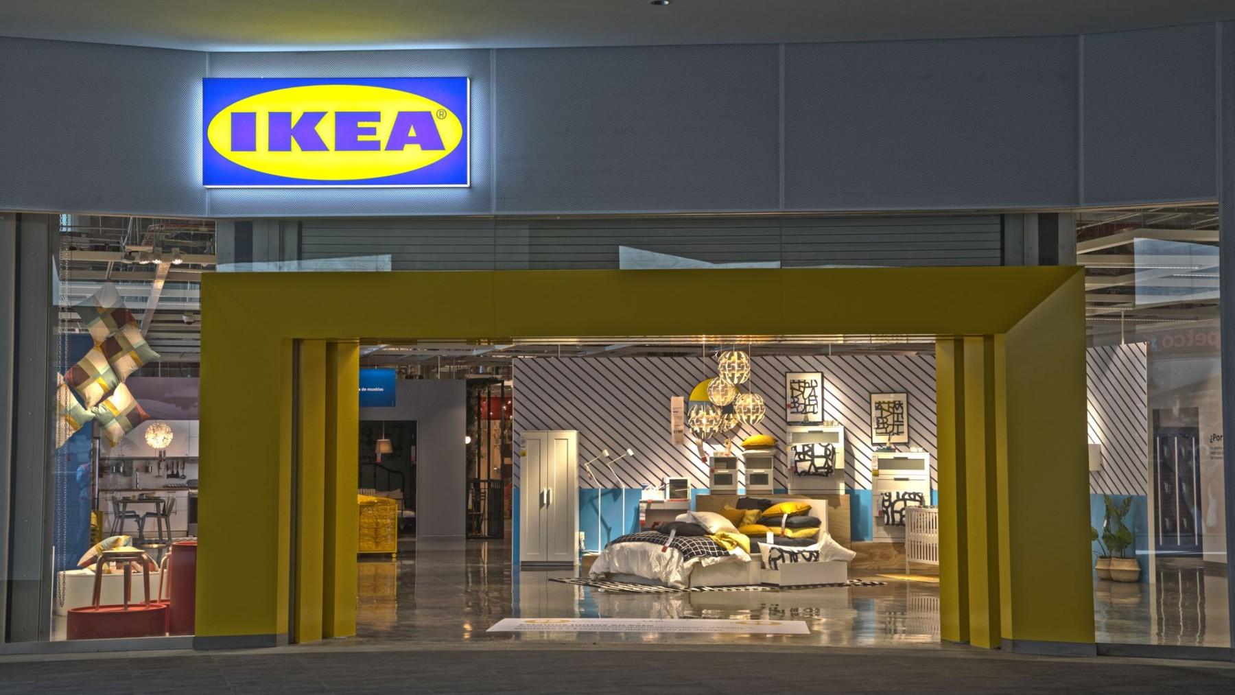 Bolso fucsia de Ikea