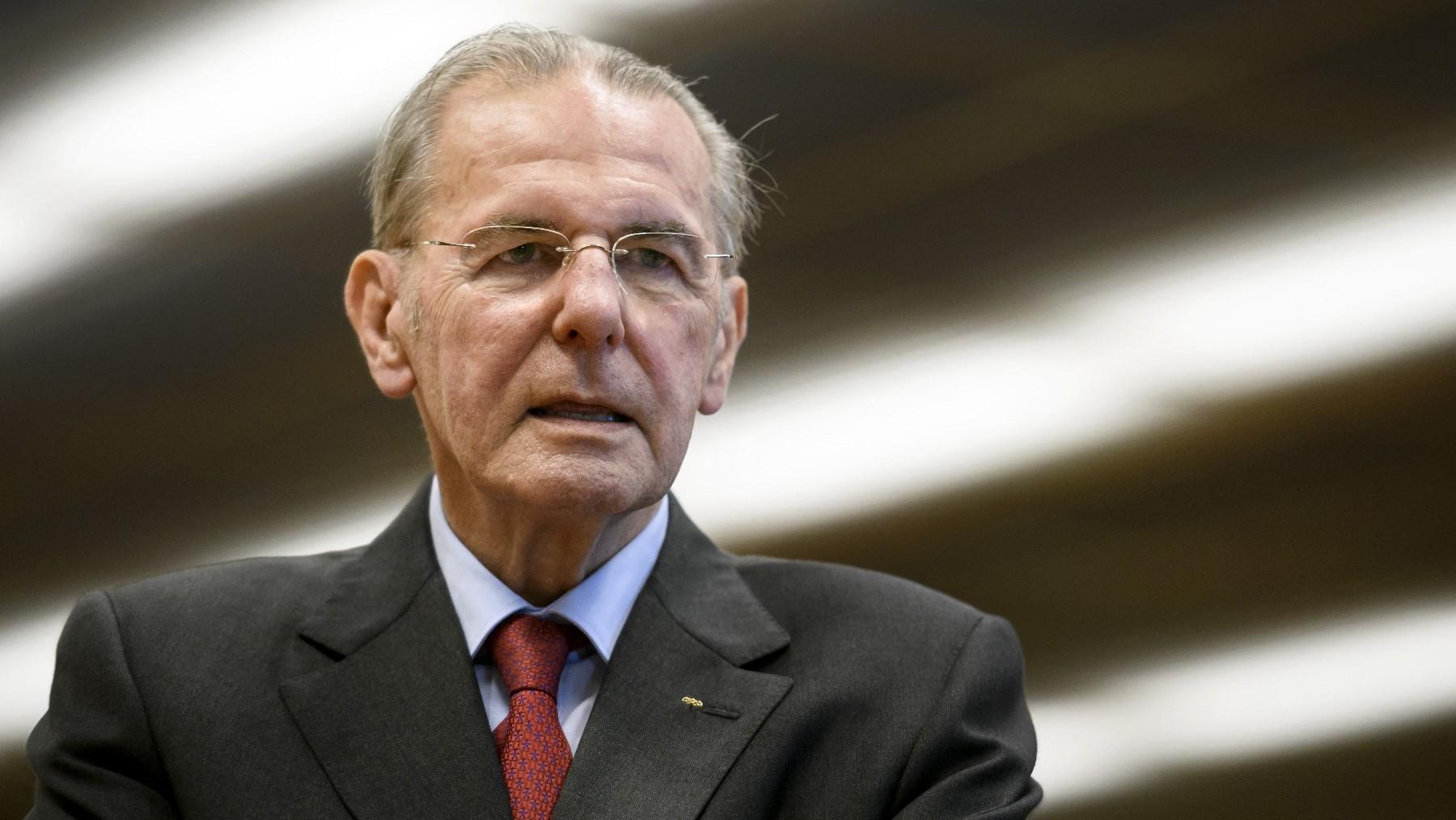 Jacques Rogge. (AFP)