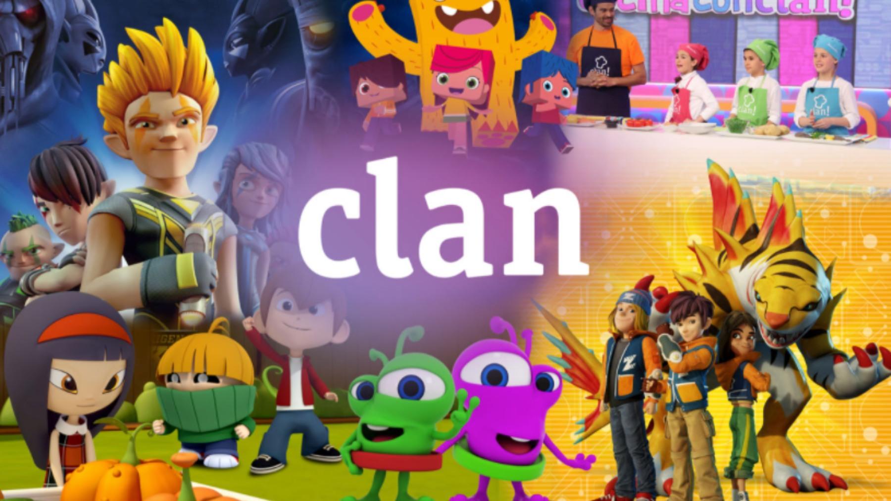 Clan, el canal de RTVE que servirá de plataforma a este convenio.