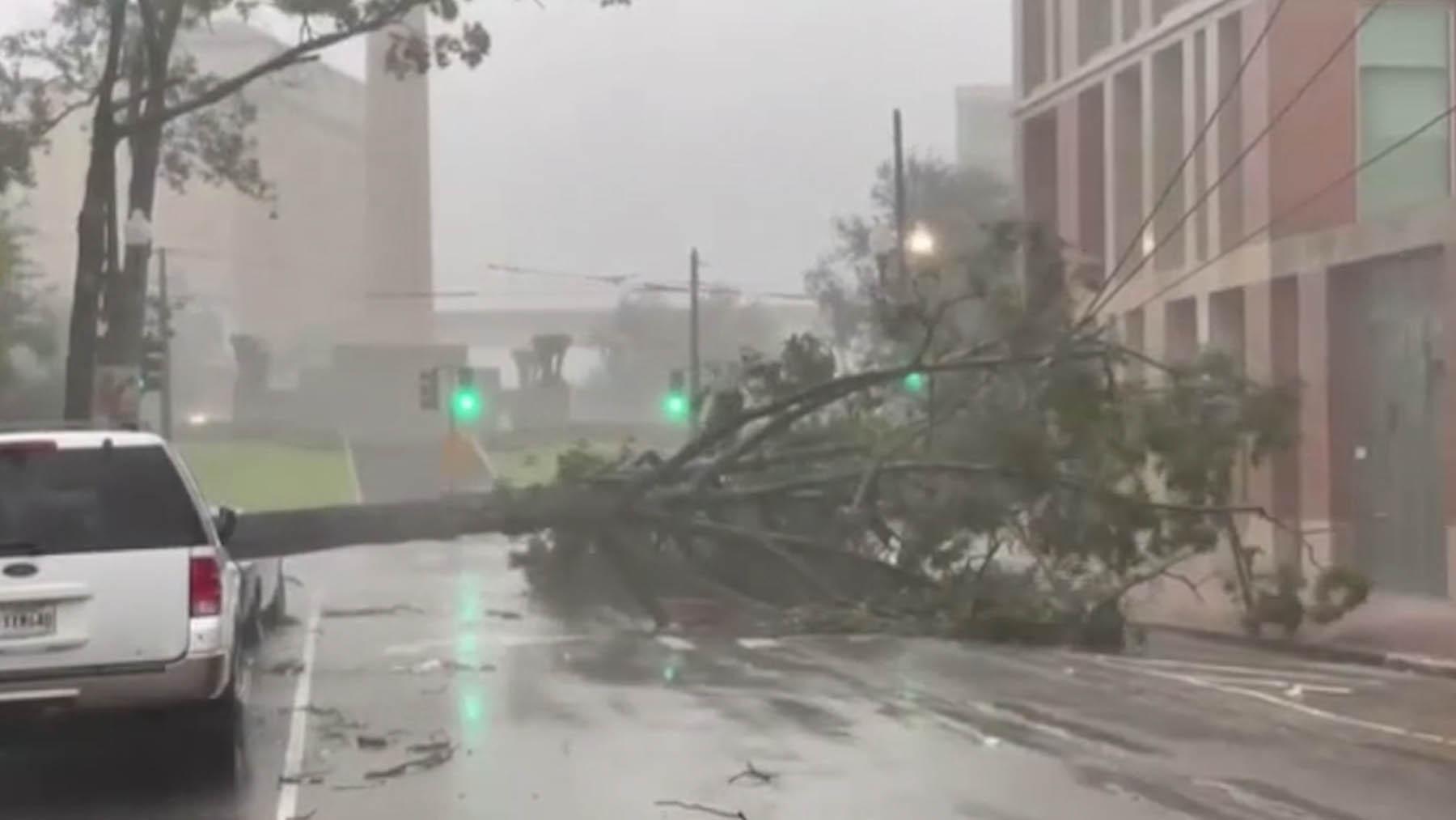 El huracán 'Ida' llega a Luisiana