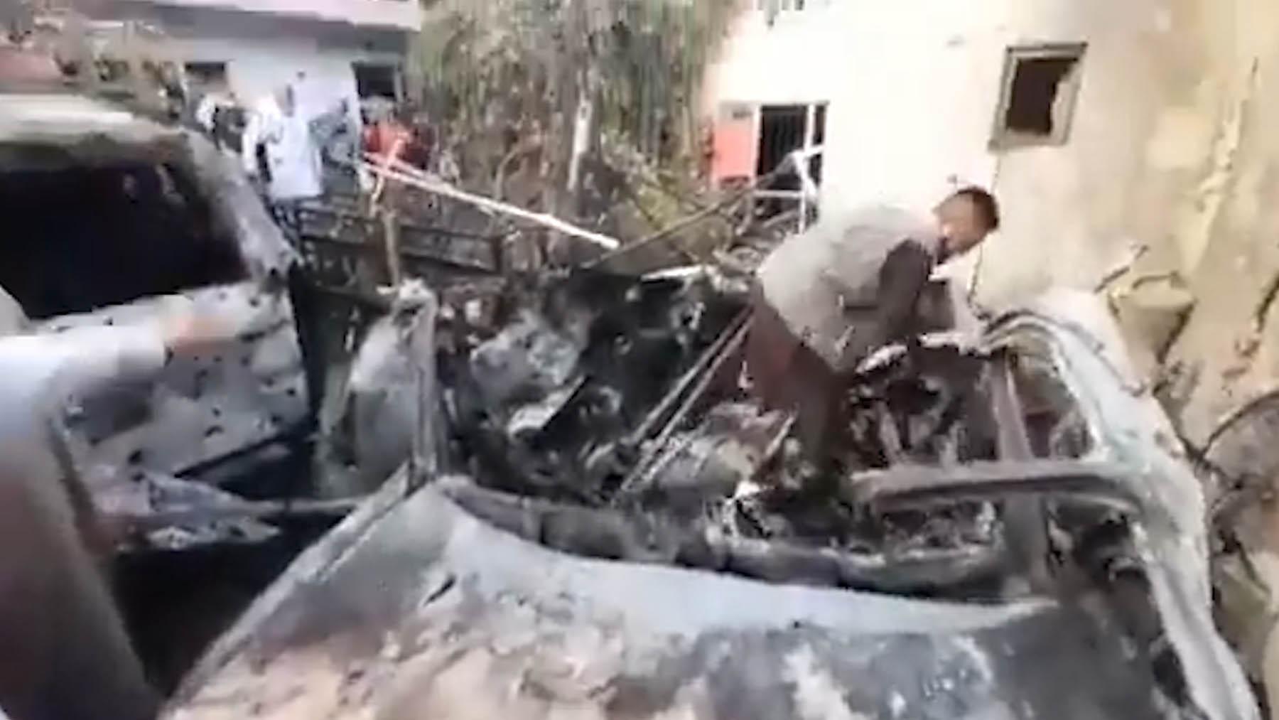 Un ataque de EEUU con dron acaba con un terrorista suicida del ISIS-K y seis muertos, incluidos niños copia
