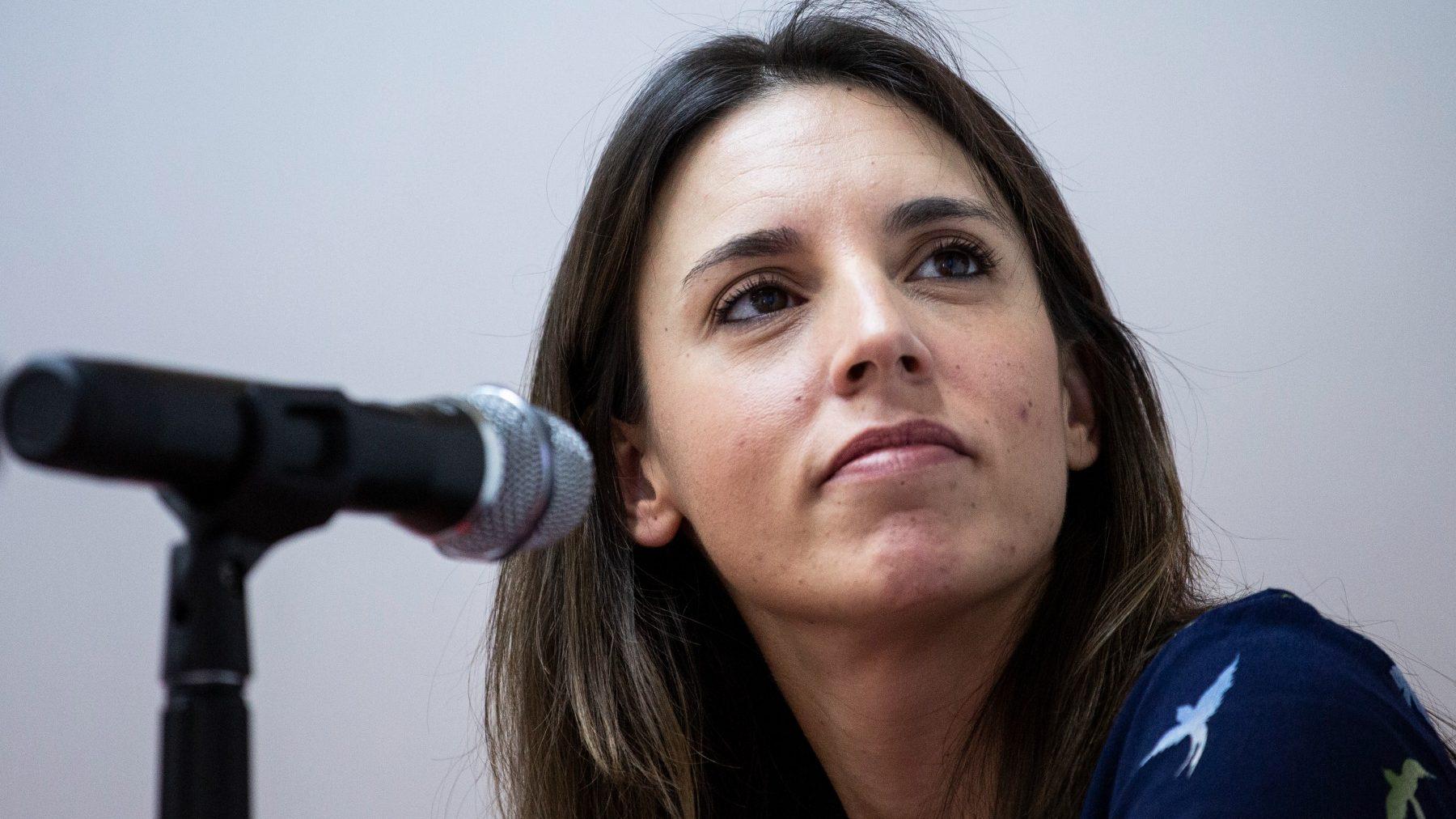 Irene Montero, ministra de Igualdad (ALEJANDRO MARTÍNEZ VÉLEZ / EUROPA PRESS).