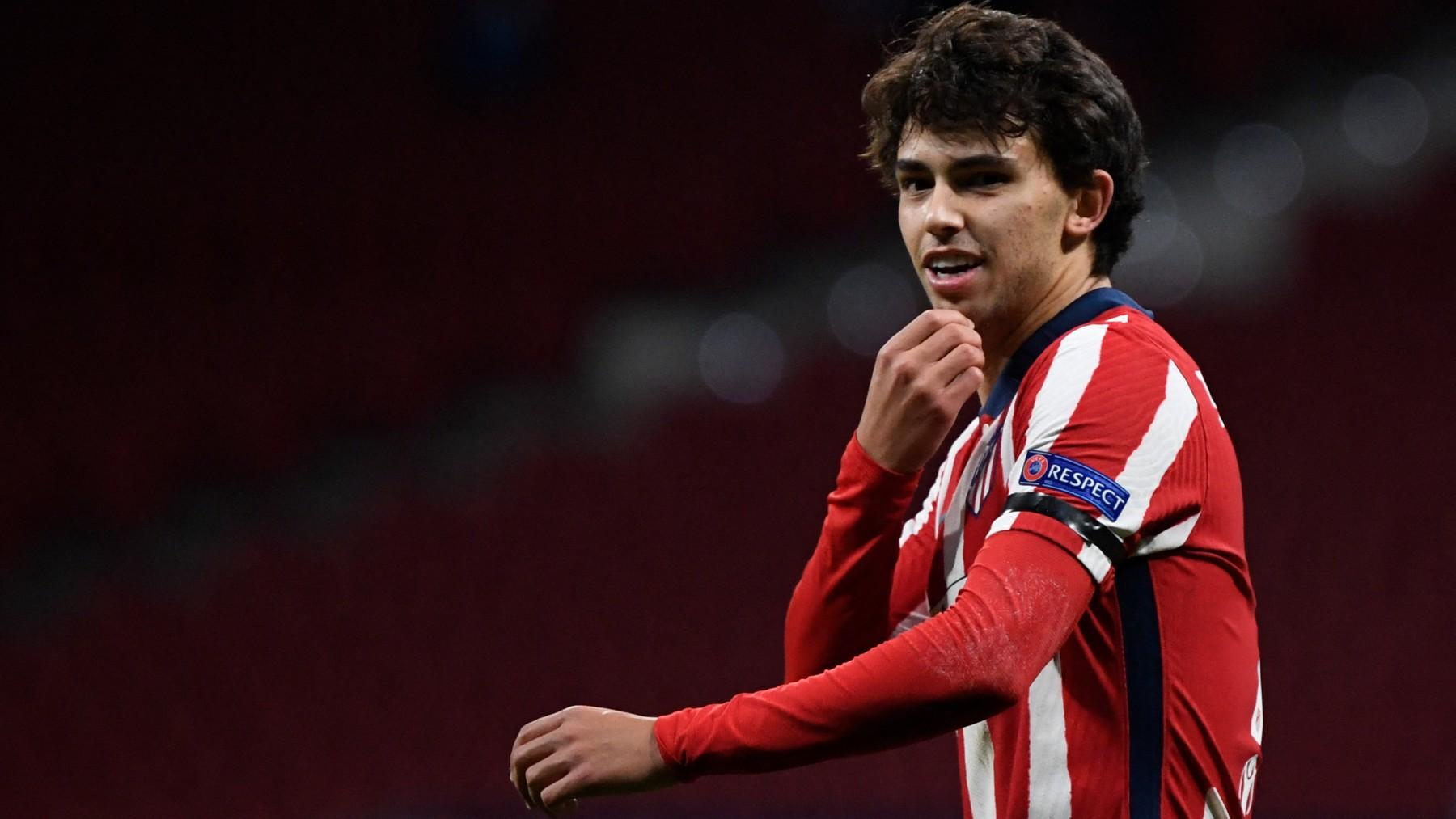 Joao Félix, en un partido con el Atlético. (AFP)