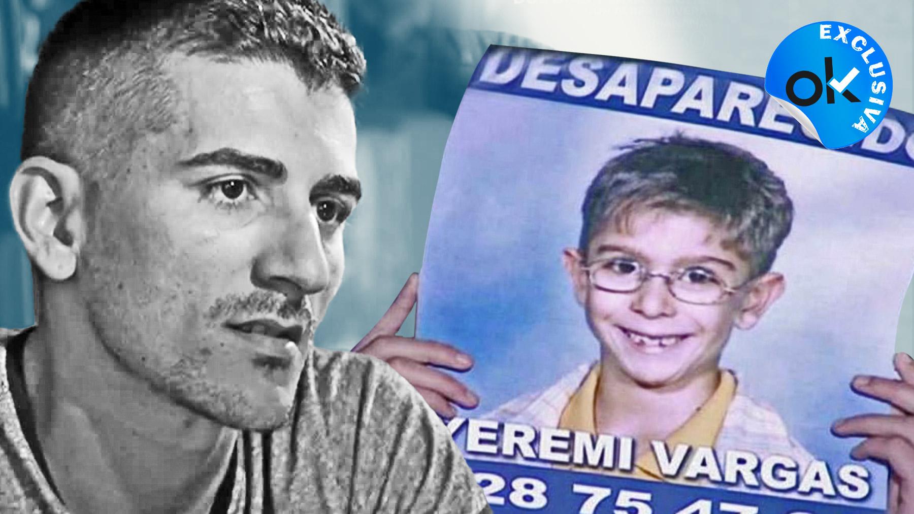 Montaje del padre de Yéremi Vargas y el pequeño.