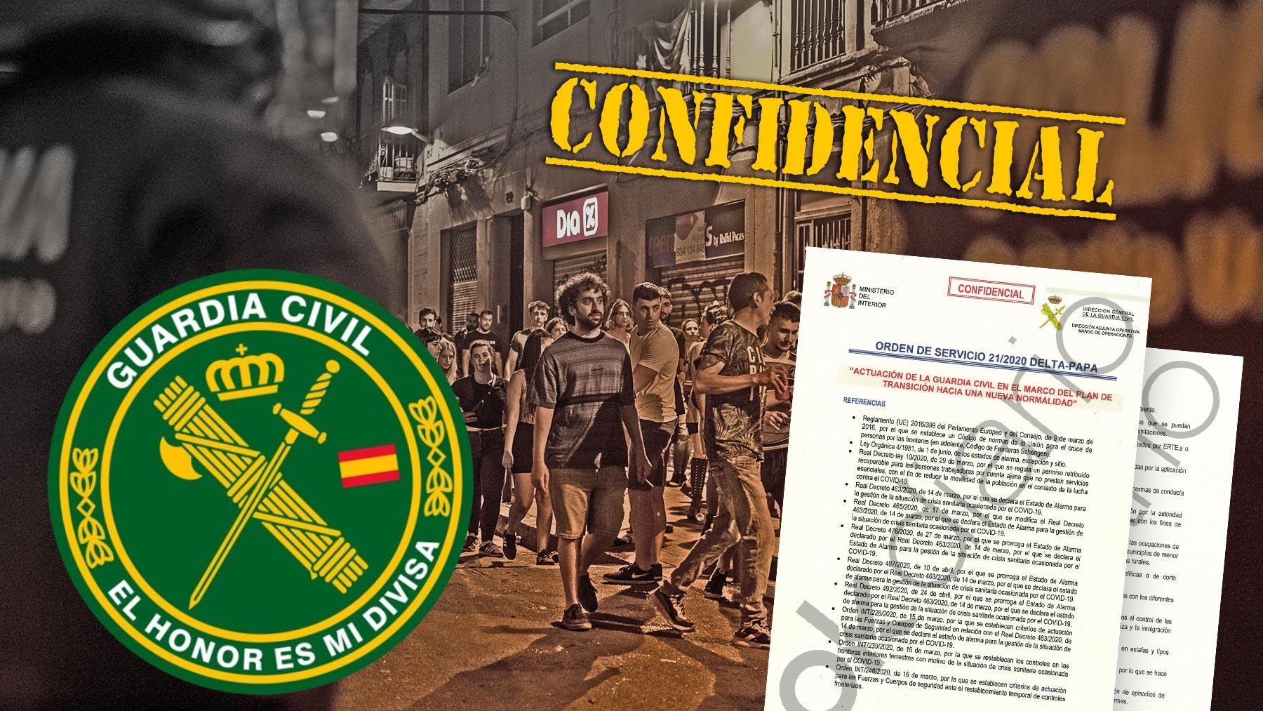 El informe confidencial de la Guardia Civil predijo las consecuencias post pandemia.