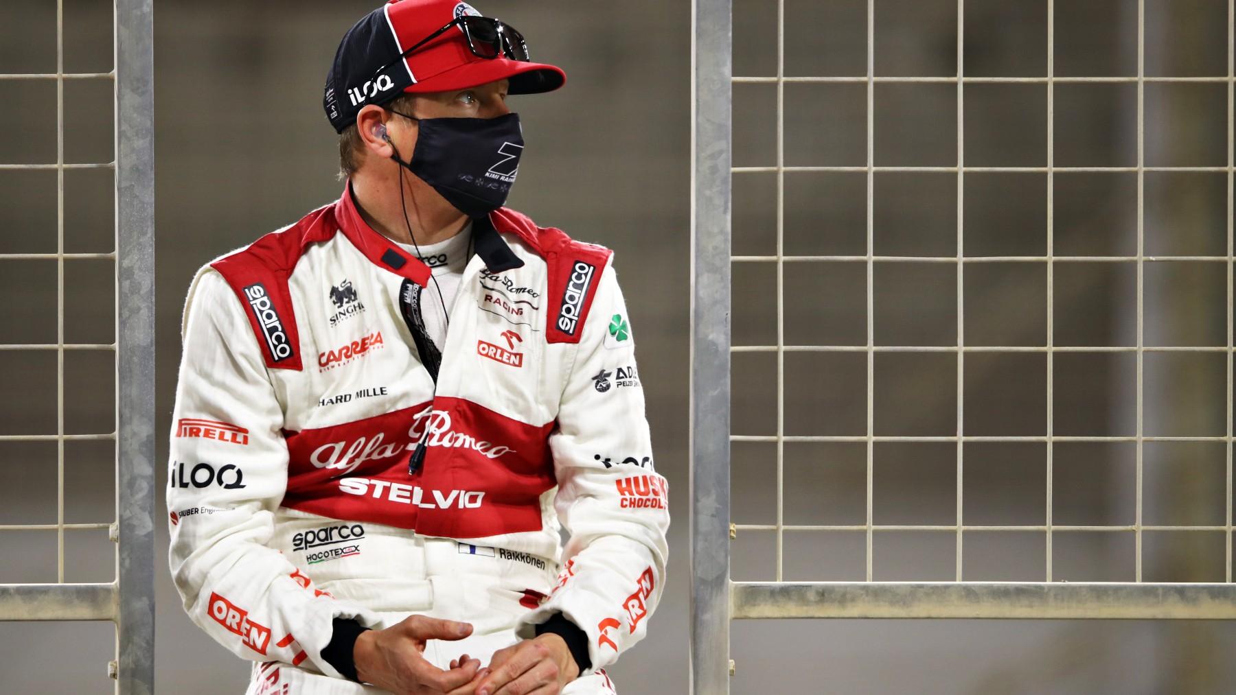 Kimi Raikkonen, durante un Gran Premio. (Getty)