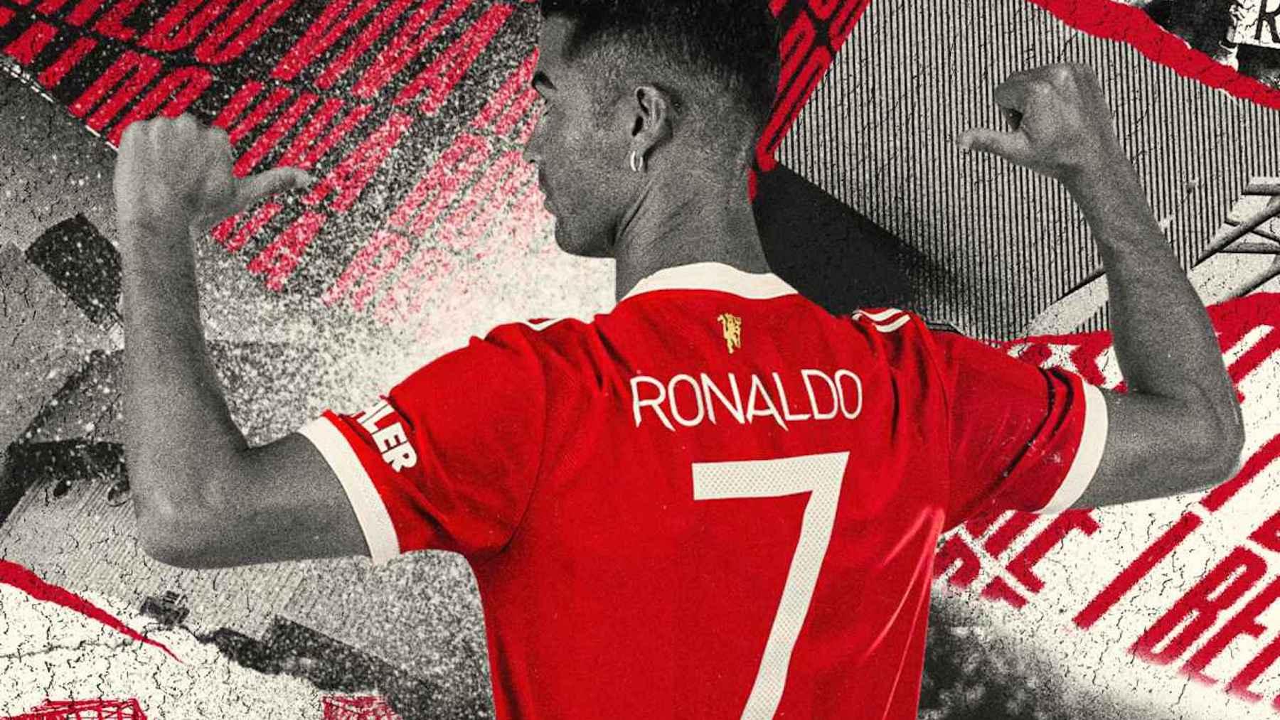 Cristiano Ronald llevará el 7 con el Manchester United.