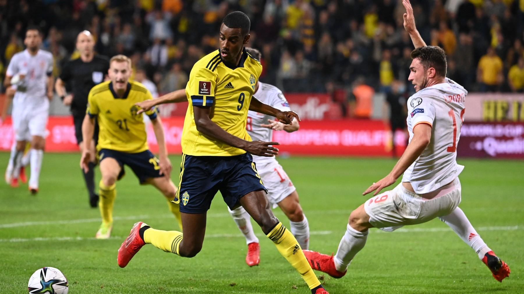 Suecia – España: partido de clasificación para el Mundial en directo. (AFP)