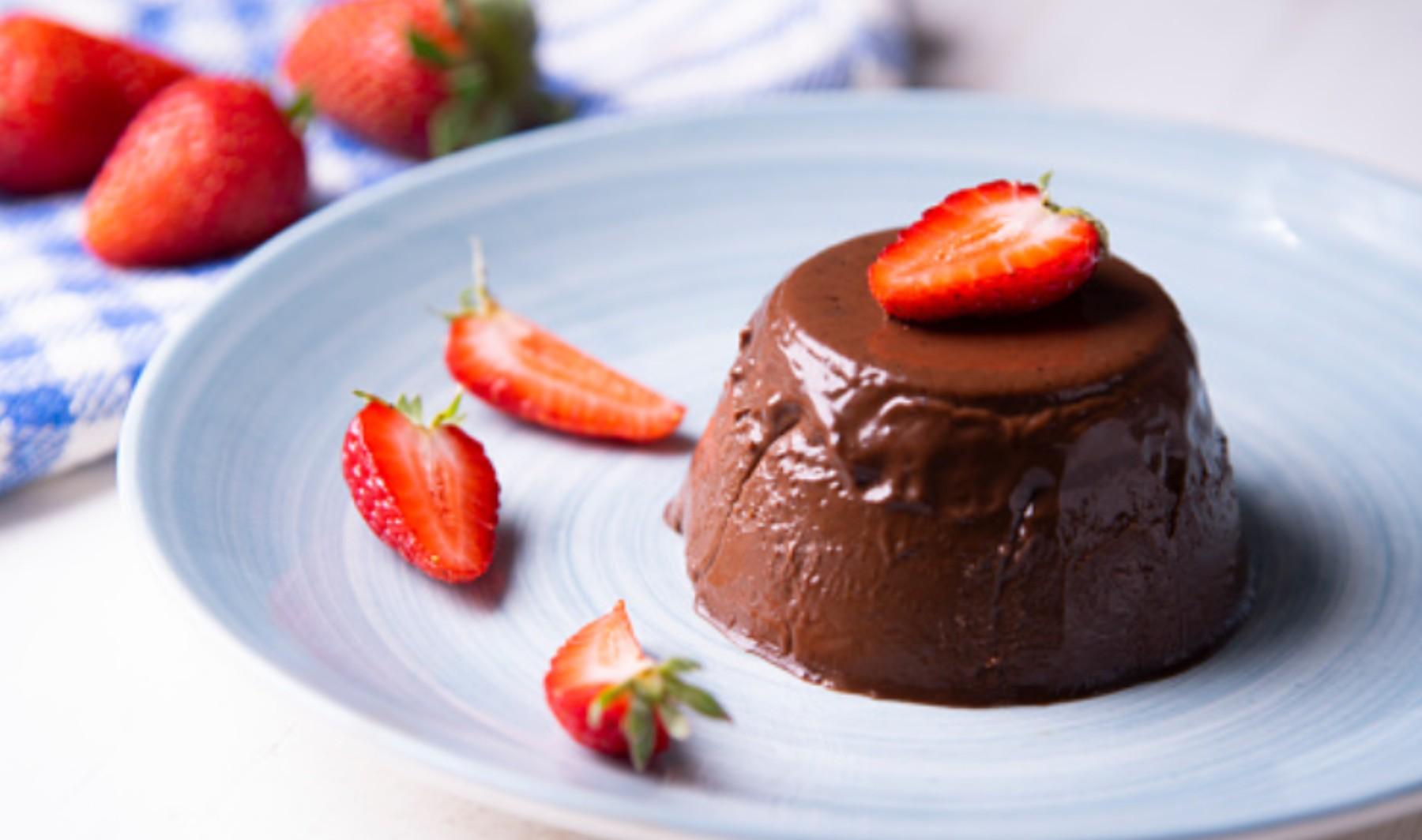Natillas de chocolate sin azúcar, receta de la merienda más saludable
