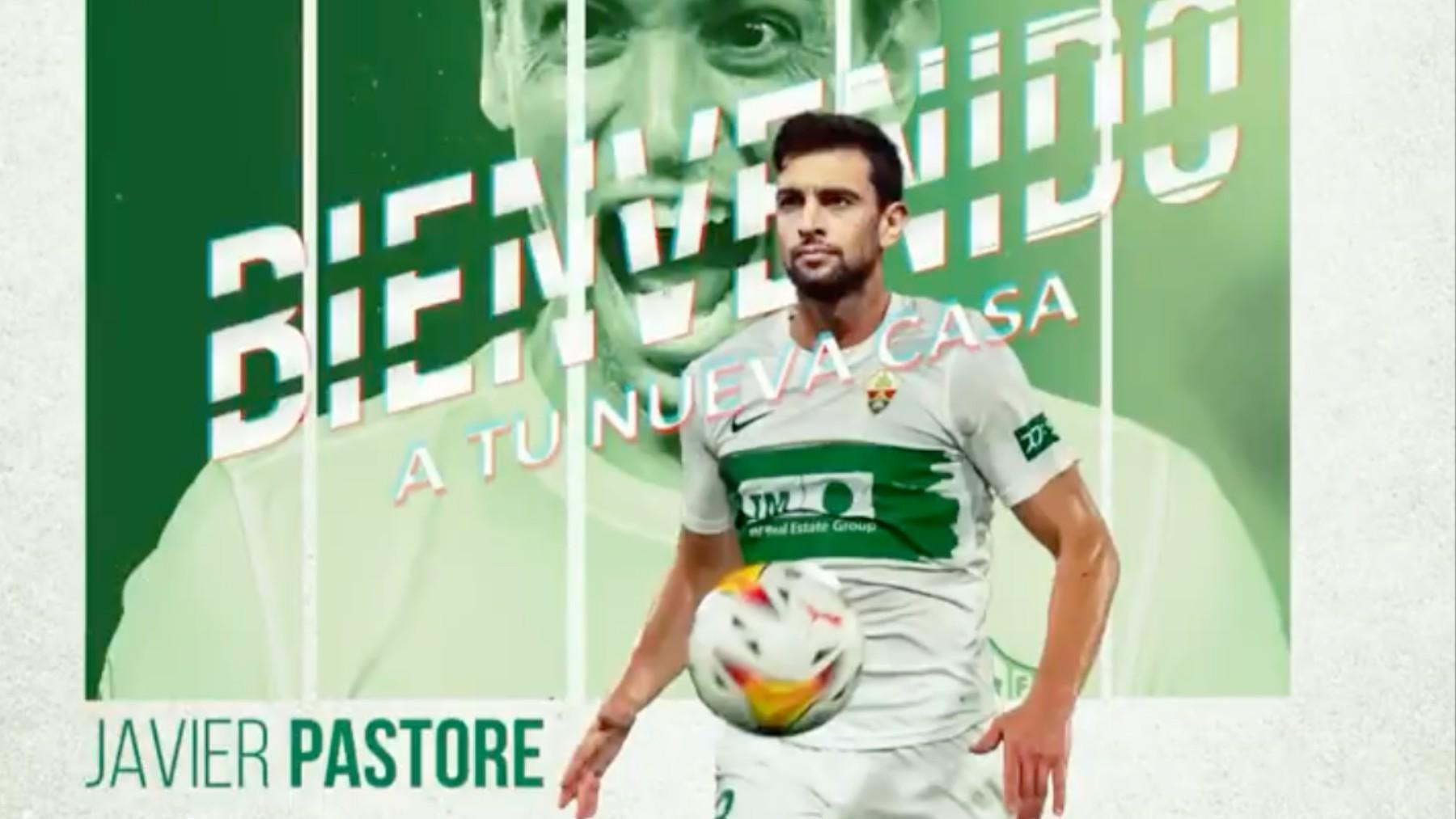 Javier Pastore es nuevo jugador el Elche.