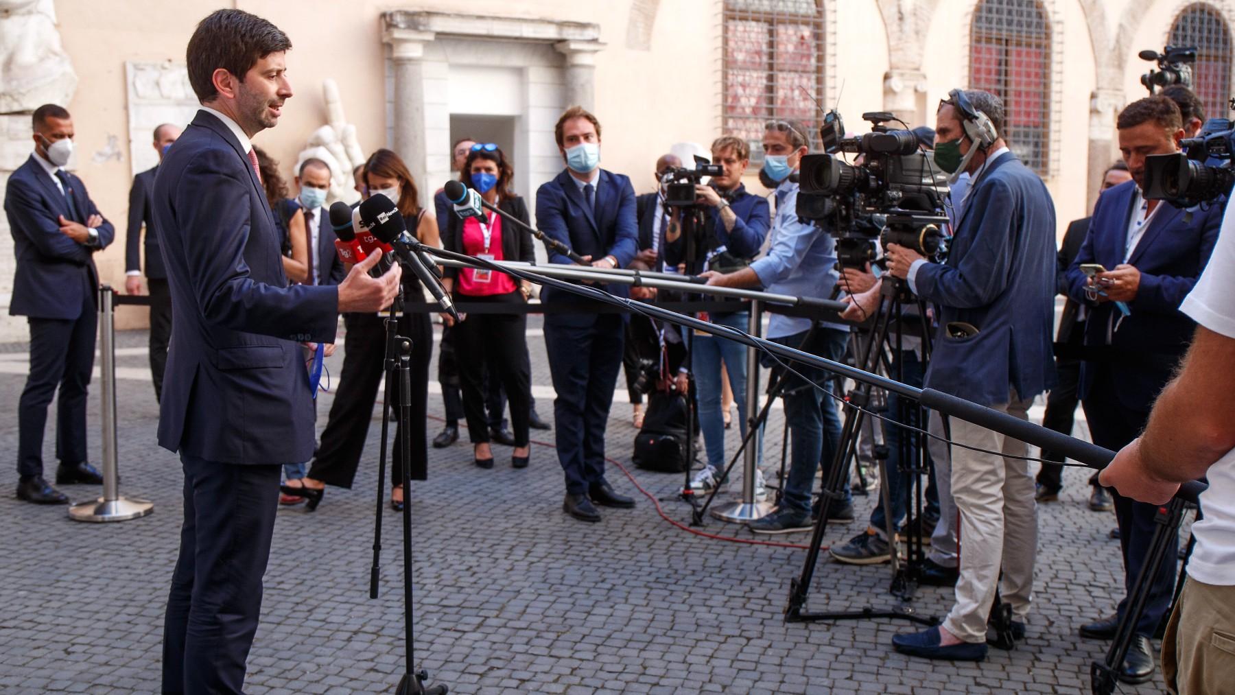 El ministro de Sanidad italiano, Roberto Speranza.