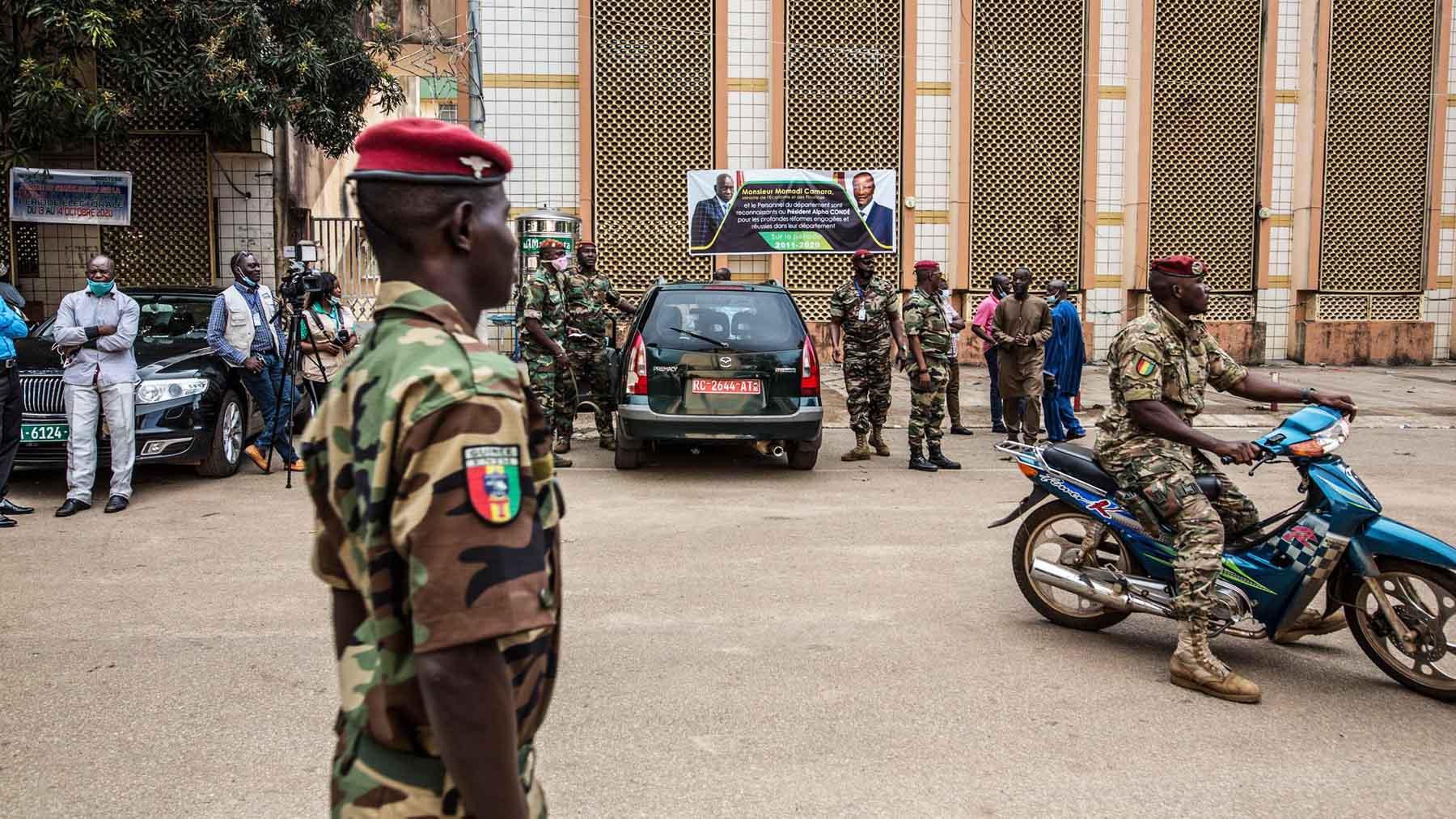 Golpe de Estado en Guinea Conakry. (Foto: EP)