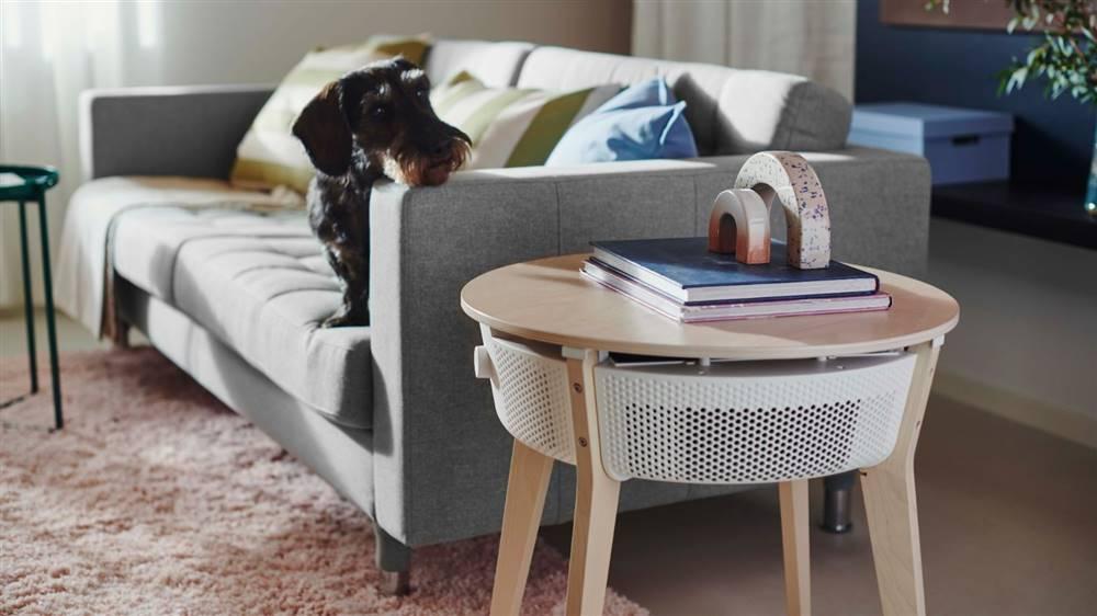 Este 2 en 1 de Ikea te cambiará la vida para siempre es una mesa que además purifica el aire